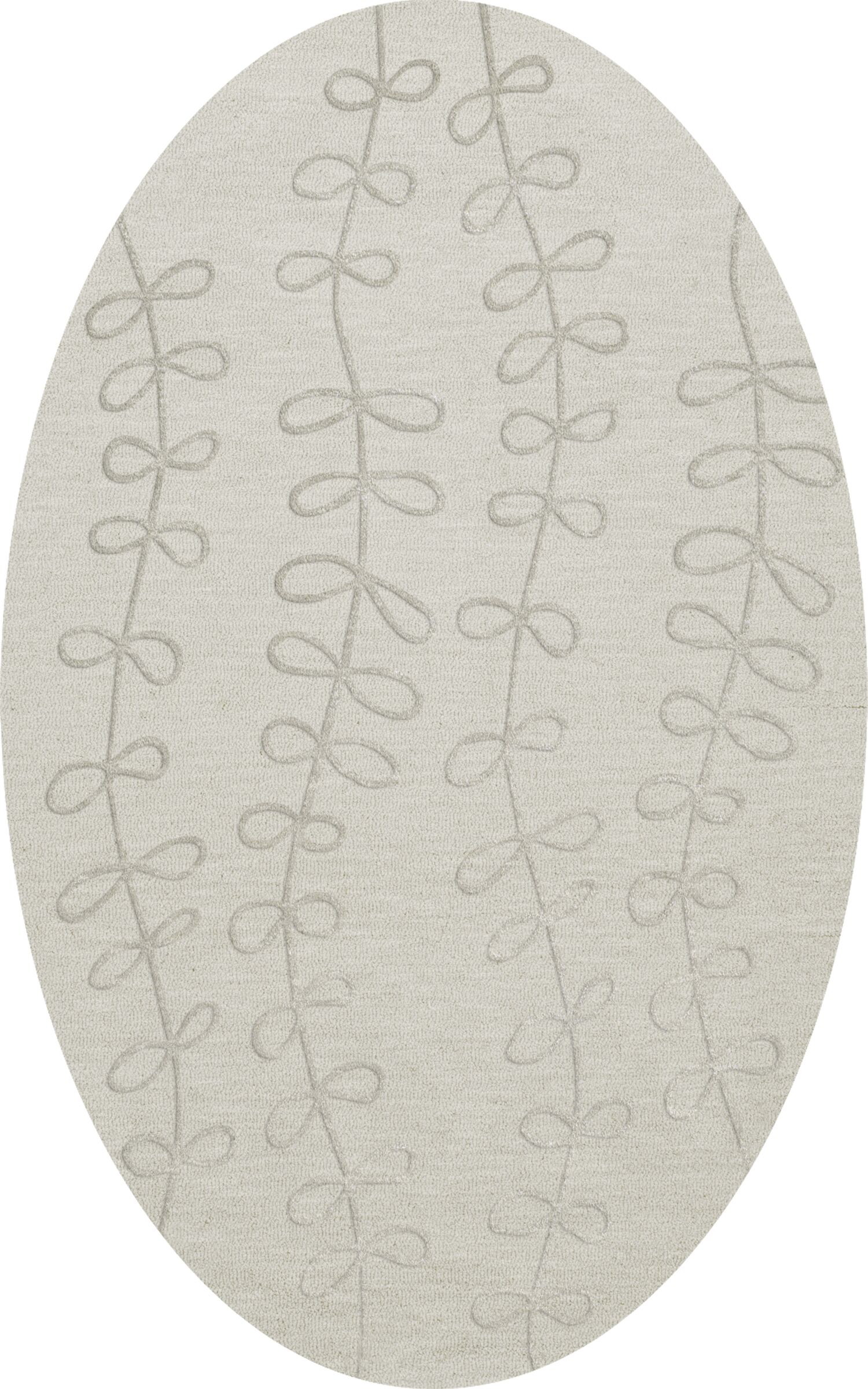 Bella Gray Area Rug Rug Size: Oval 8' x 10'