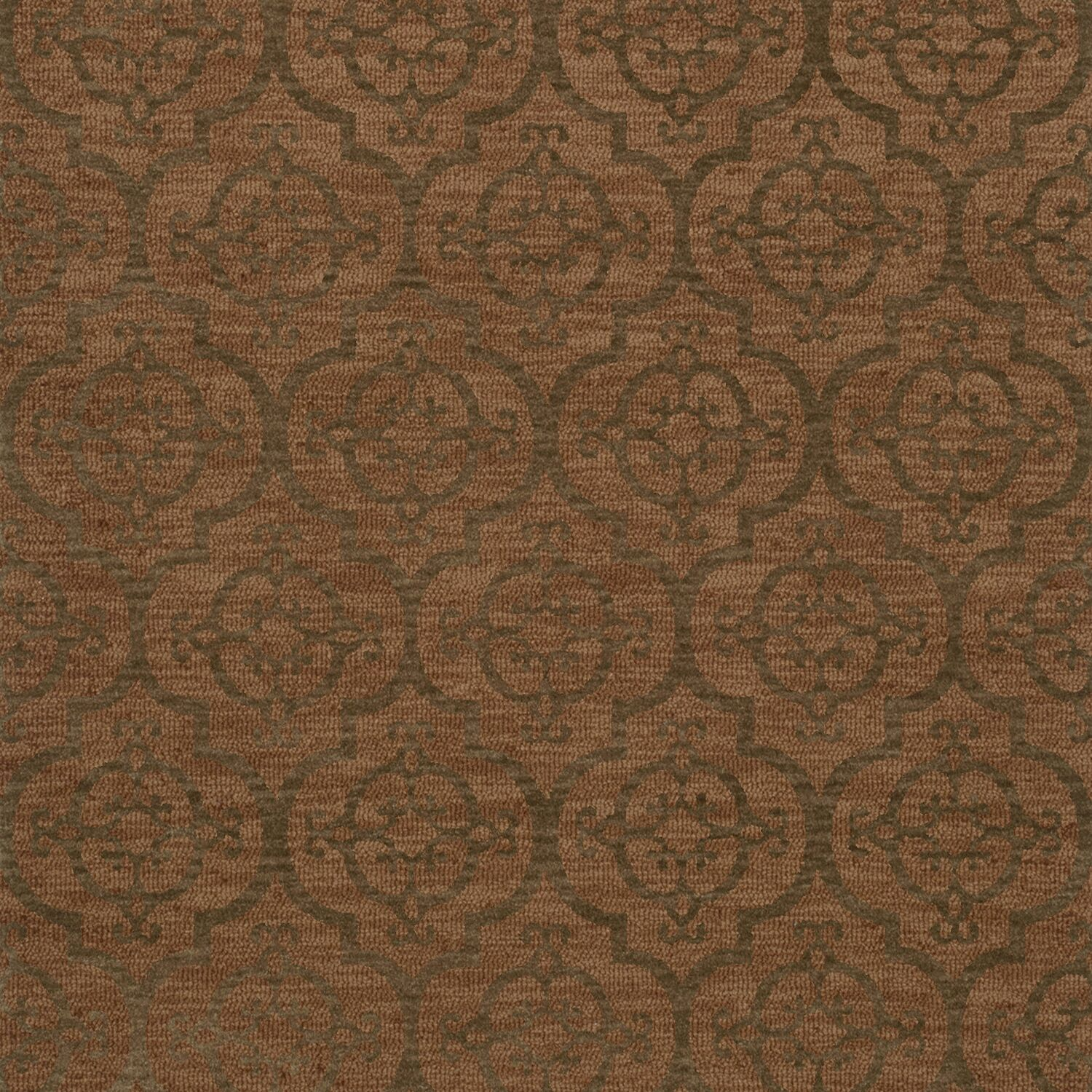 Bella Brown Area Rug Rug Size: Square 10'