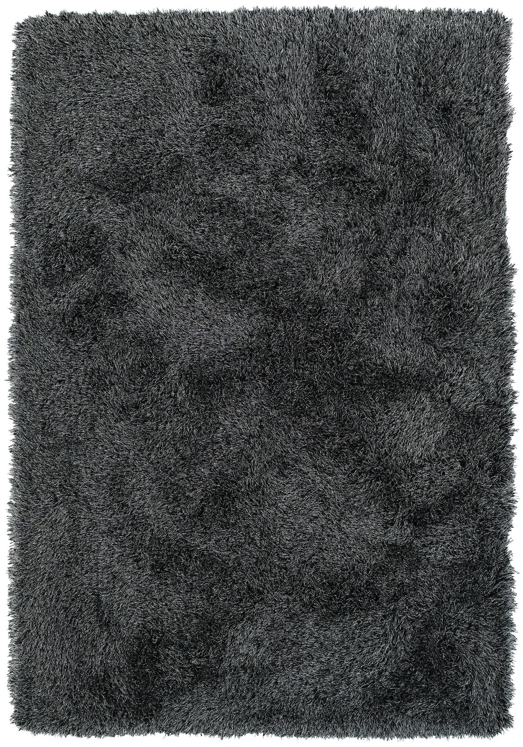 Impact Hand-Tufted Black Area Rug Rug Size: Rectangle 8' x 10'