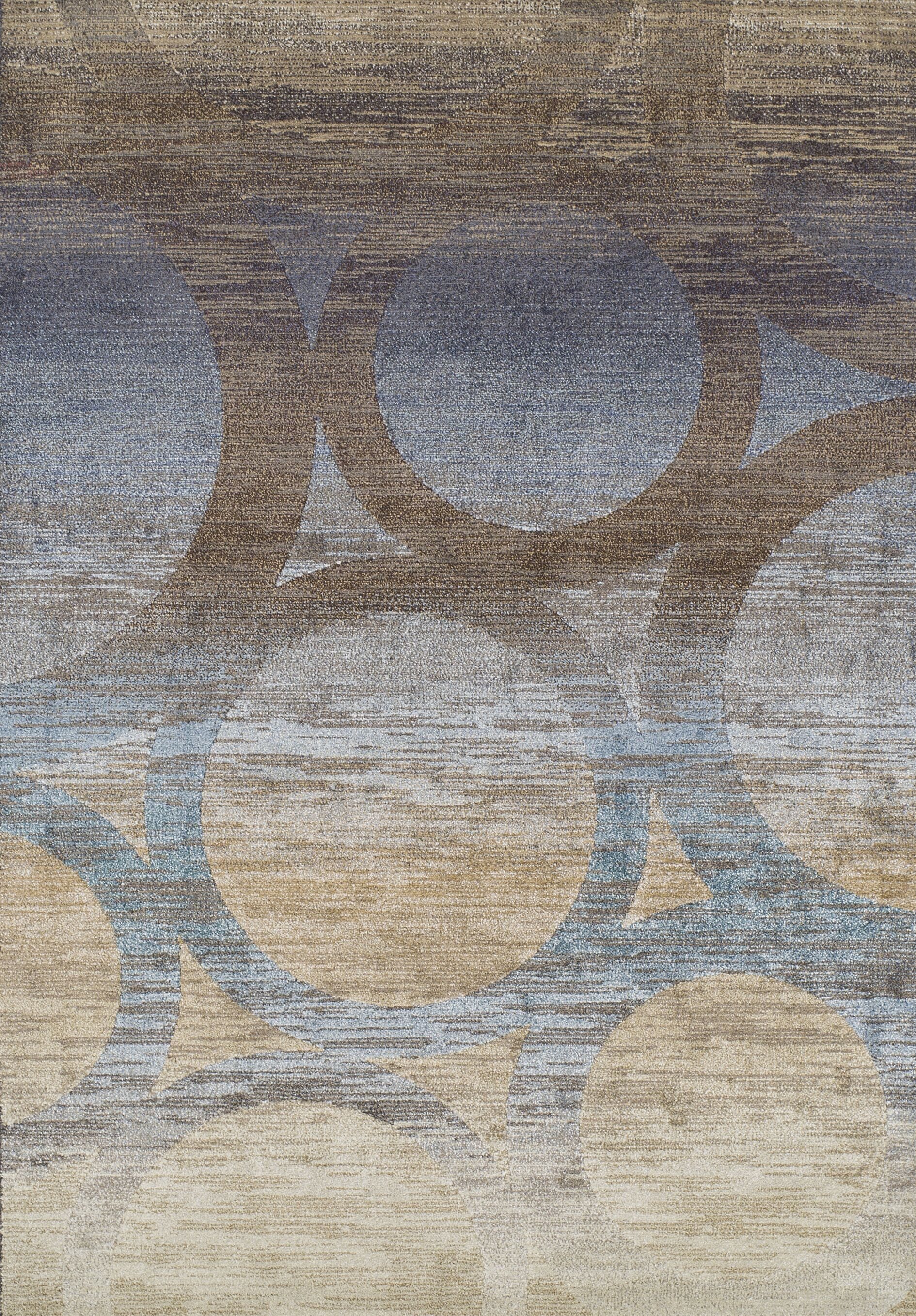 Stan Brown Area Rug Rug Size: Rectangle 9'6