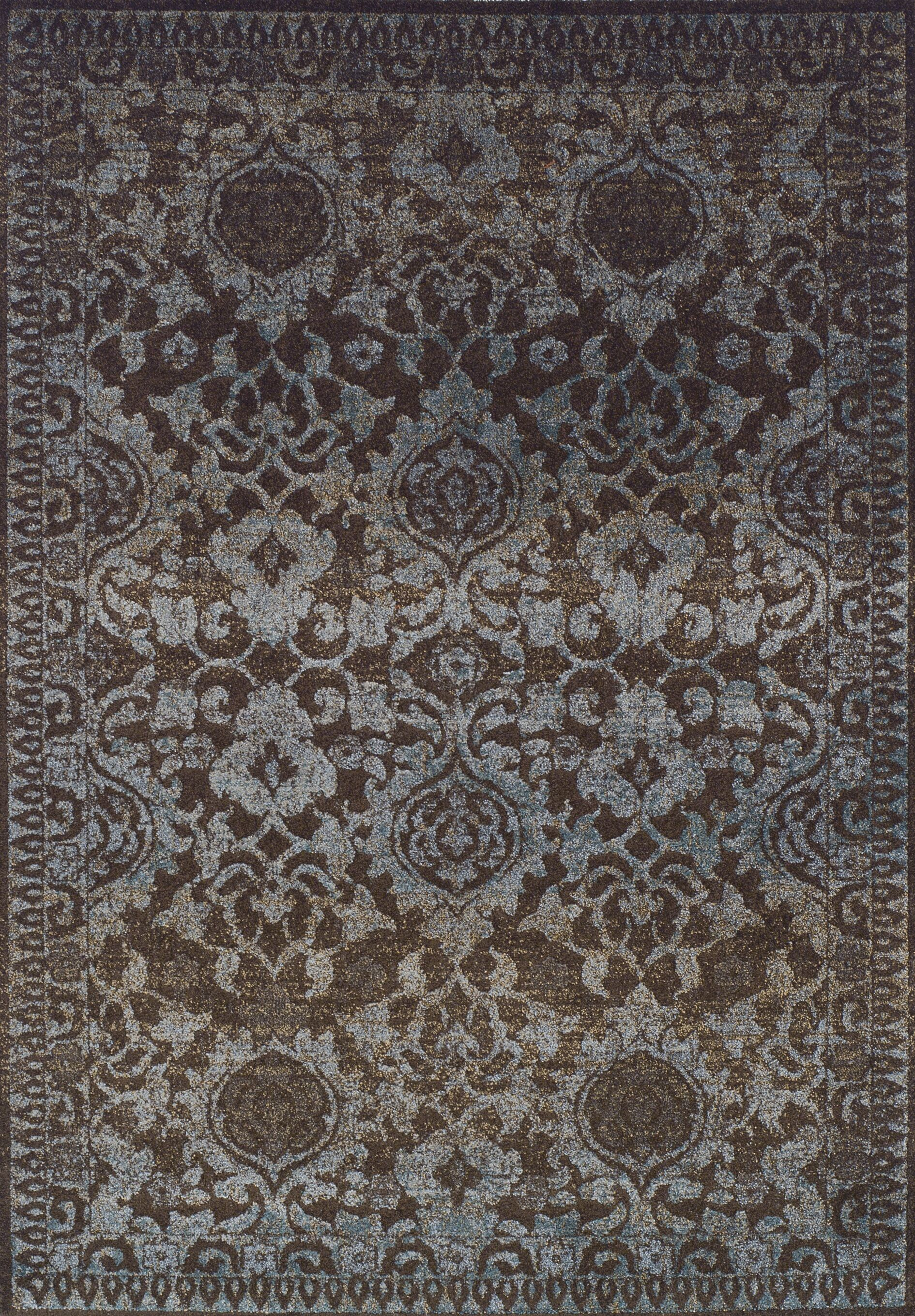Antigua Chocolate Area Rug Rug Size: Rectangle 3'3