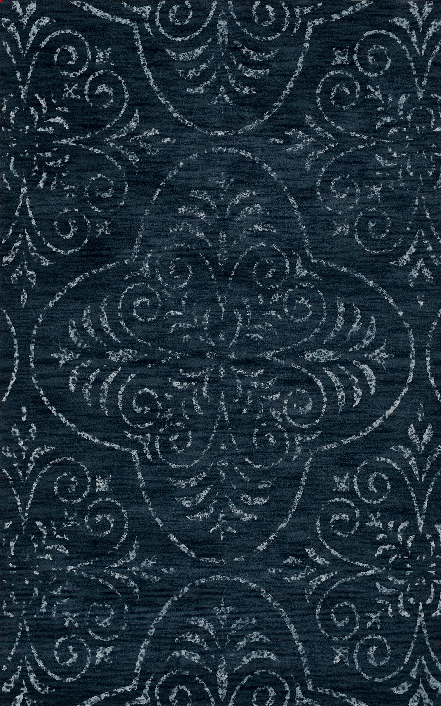 Elkton Blue Area Rug Rug Size: Oval 9' x 12'