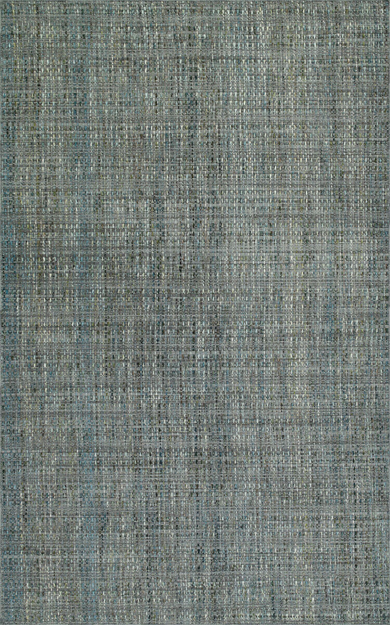 Nepal Hand-Loomed Gray Area Rug Rug Size: Rectangle 3'6