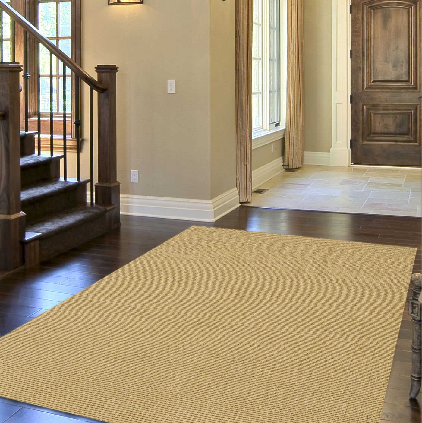 Dionne Honey Solid Rug Rug Size: Rectangle 5' x 8'