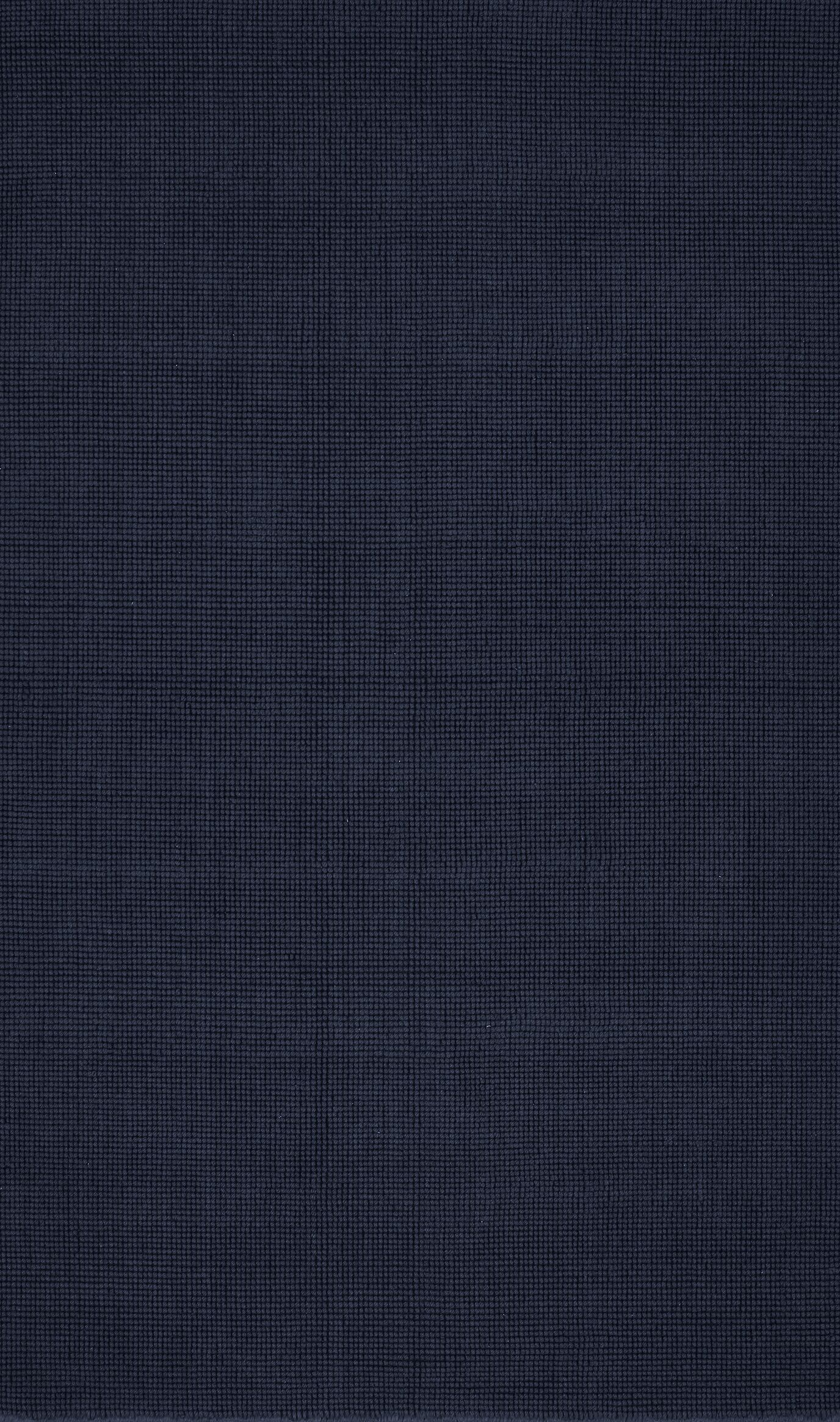 Dionne Hand-Tufted Navy Area Rug Rug Size: Rectangle 3'6