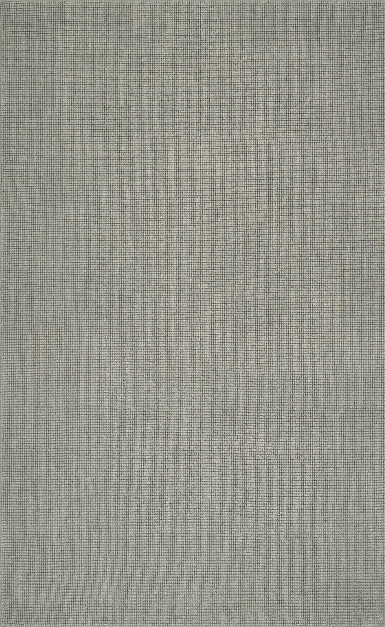 Dionne Hand-Tufted Silver Area Rug Rug Size: Runner 2'3