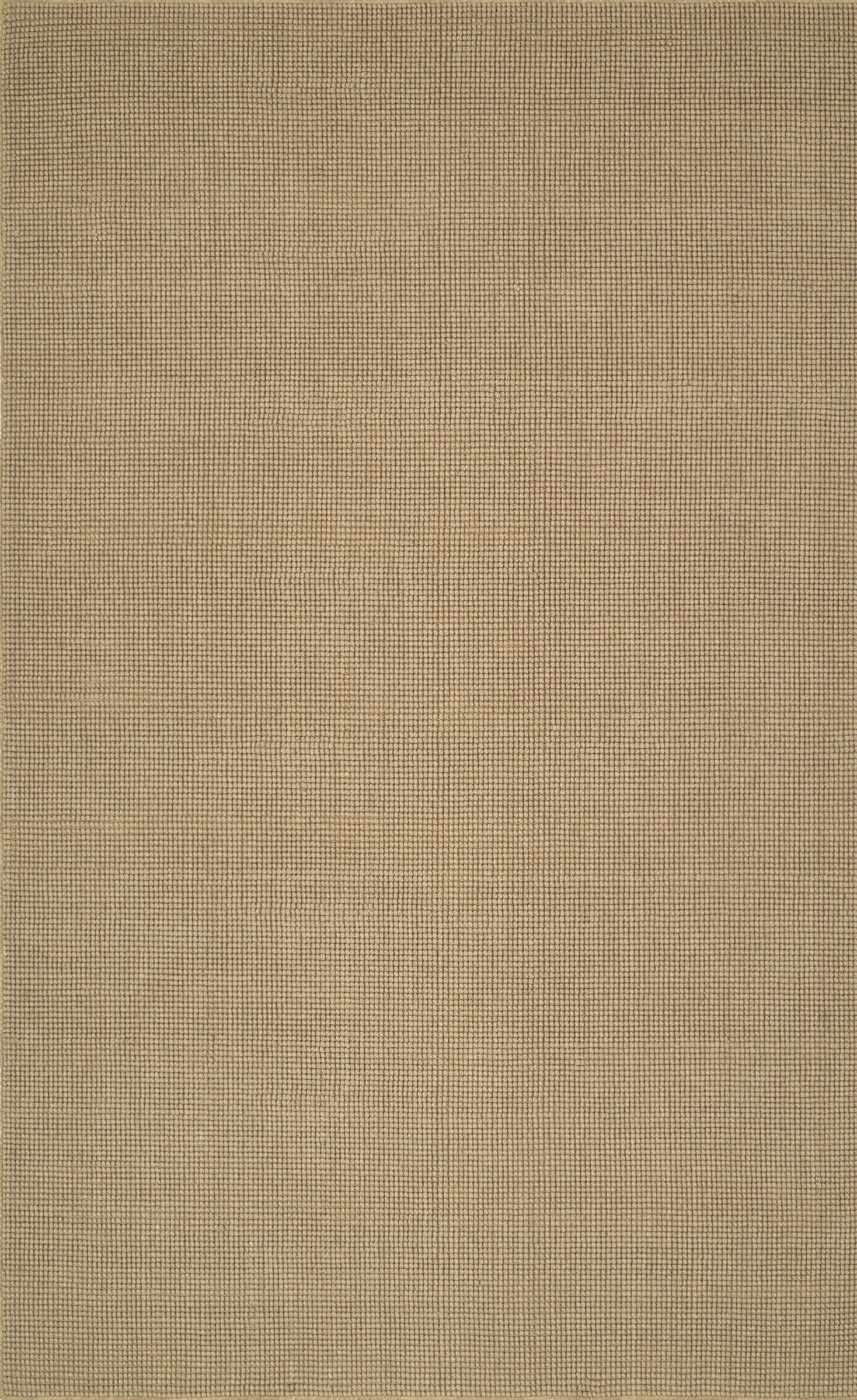 Dionne Hand-Tufted Wheat Area Rug Rug Size: Rectangle 5' x 8'