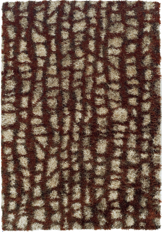 Zhora Paprika Area Rug Rug Size: Rectangle 7'10
