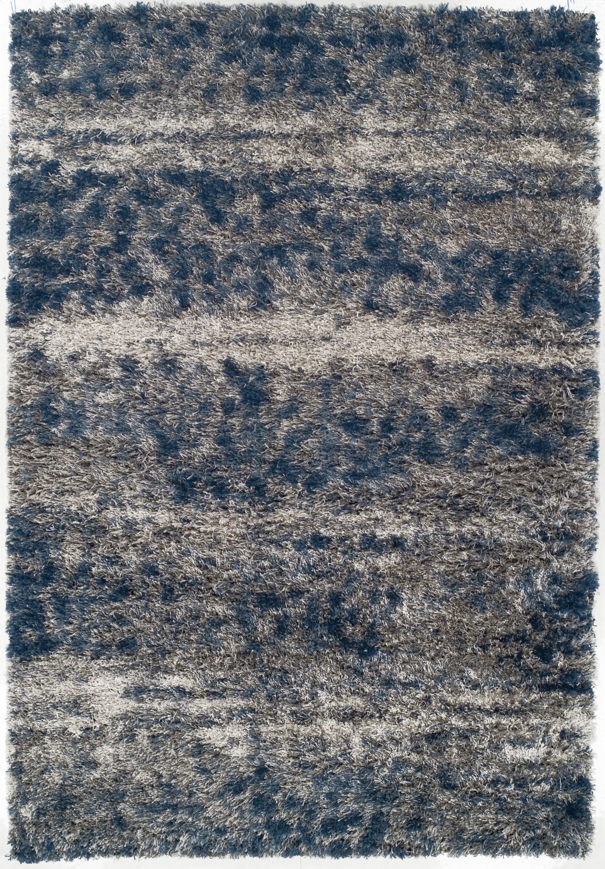 Zhora Denim/Gray Area Rug Rug Size: Rectangle 9'6
