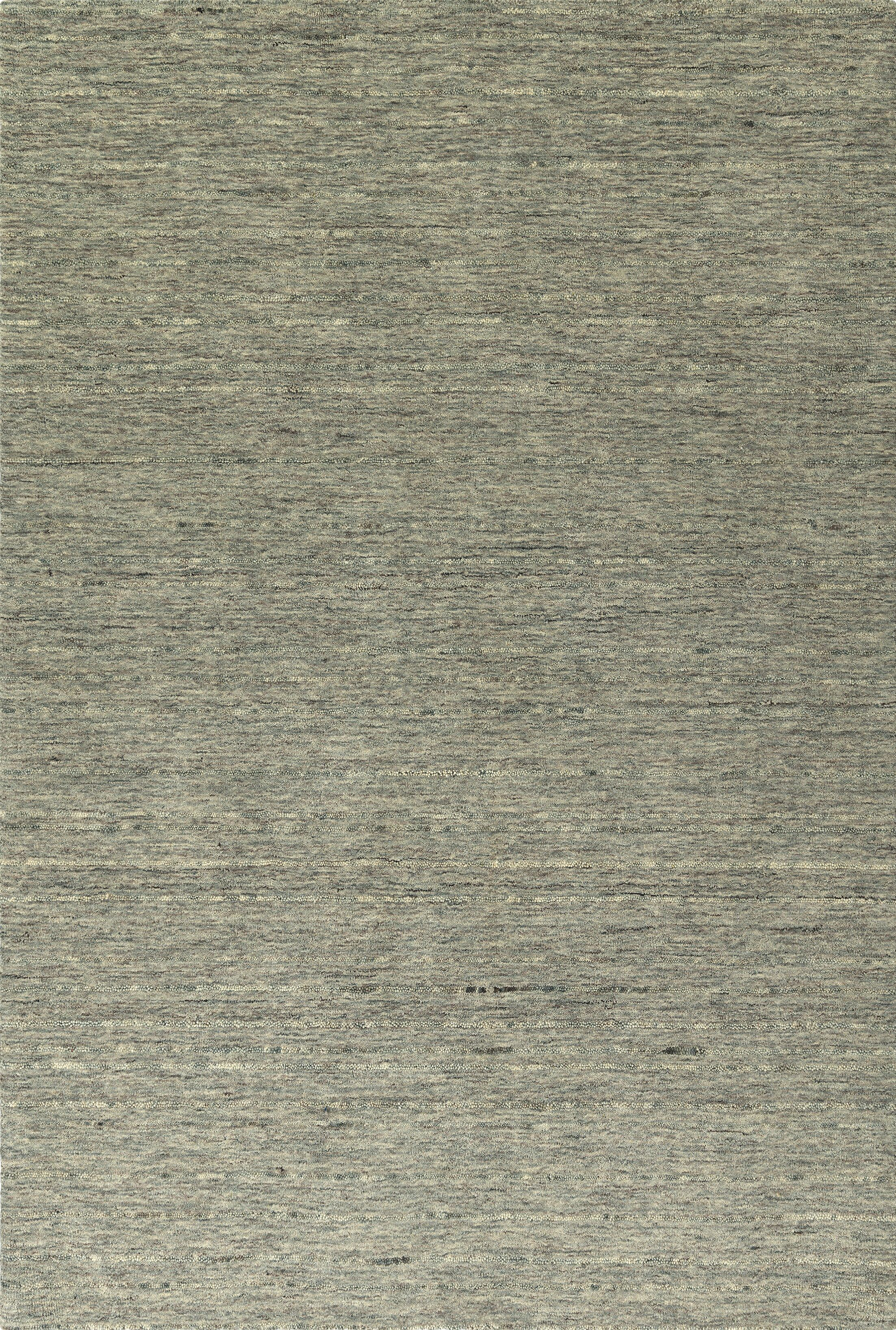 Glenville Hand-Woven Wool Fog Area Rug Rug Size: Rectangle 9' x 13'
