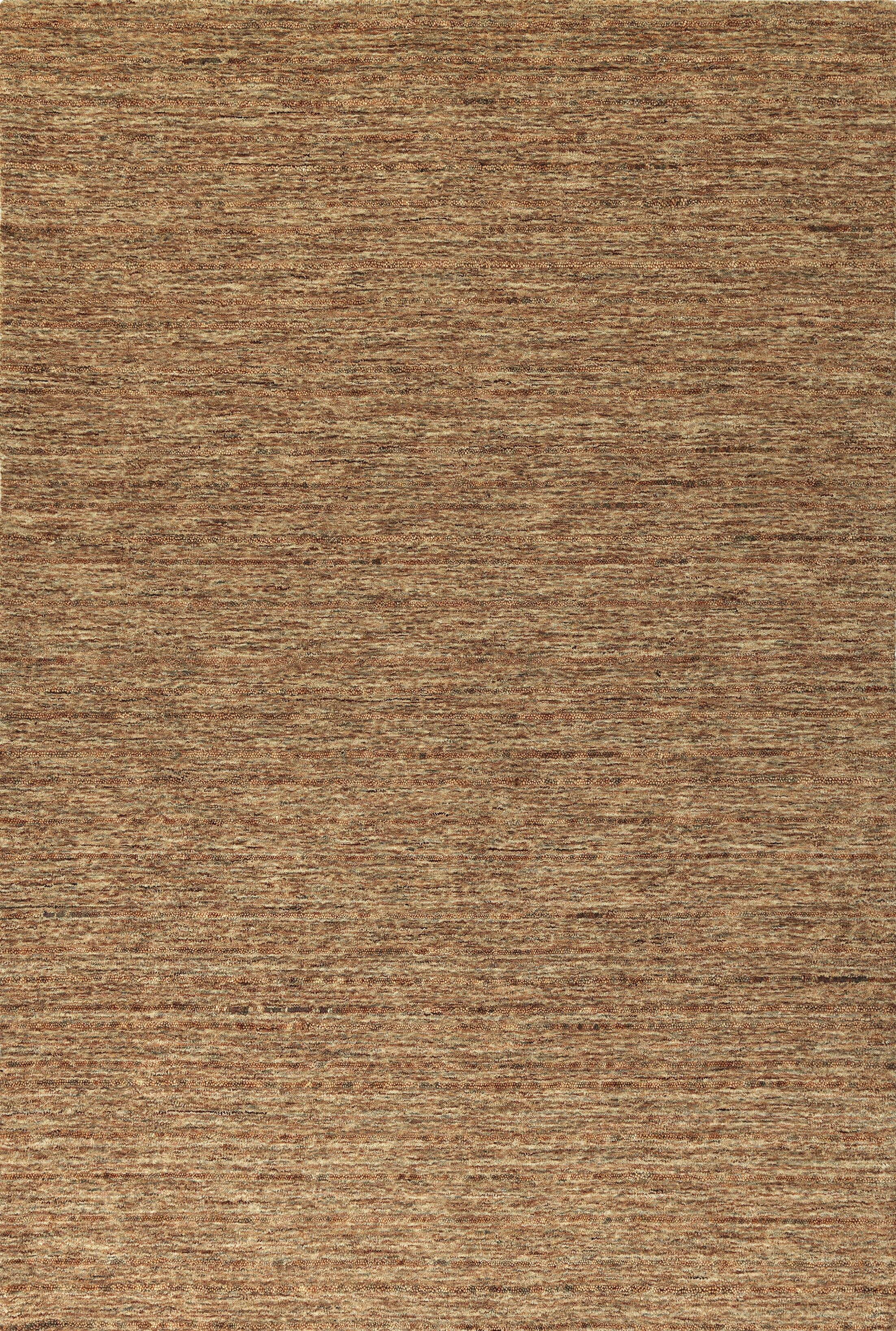 Glenville Hand-Woven Wool Sunset Area Rug Rug Size: Rectangle 3'6