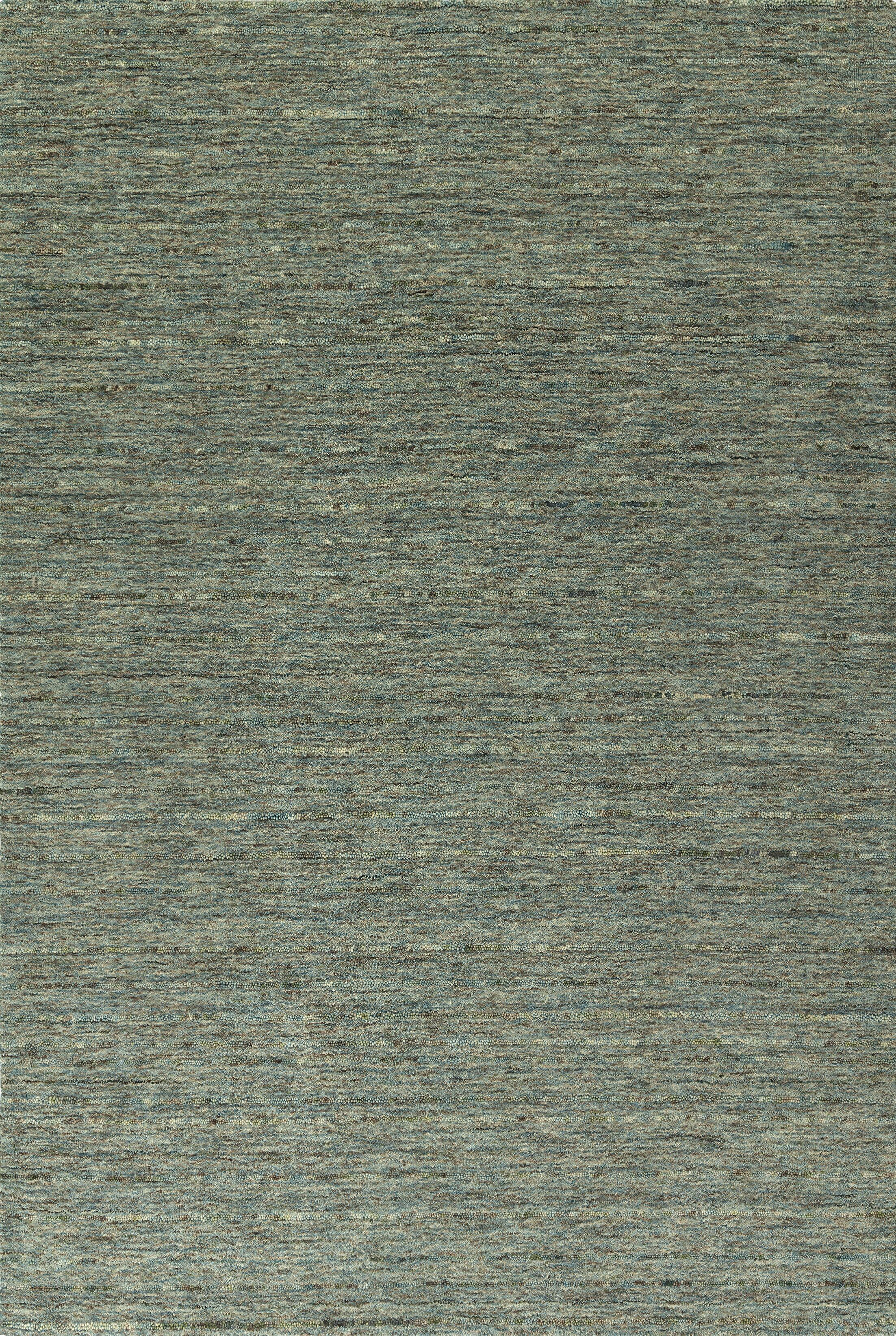 Glenville Hand-Woven Wool Turquoise Area Rug Rug Size: Rectangle 5' x 7'6