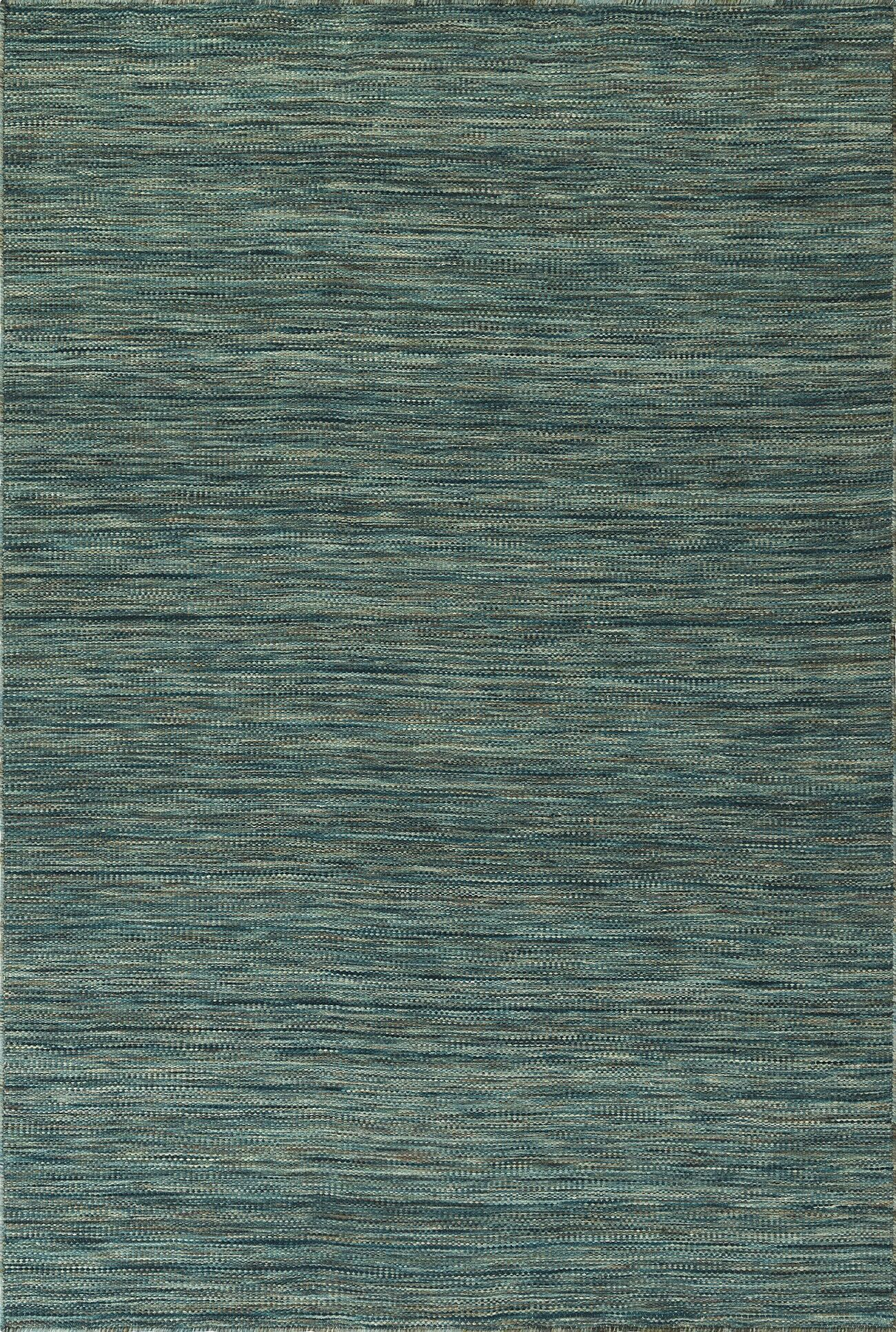 Junien Hand Woven Wool Turquoise Area Rug Rug Size: Rectangle 3'6