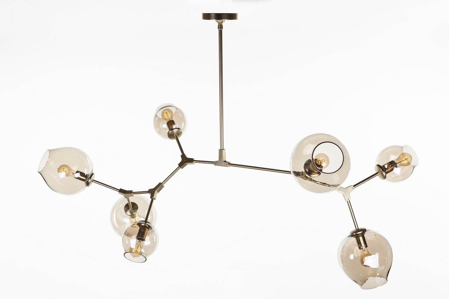 Efrain 7-light Sputnik Chandelier Finish: Gold