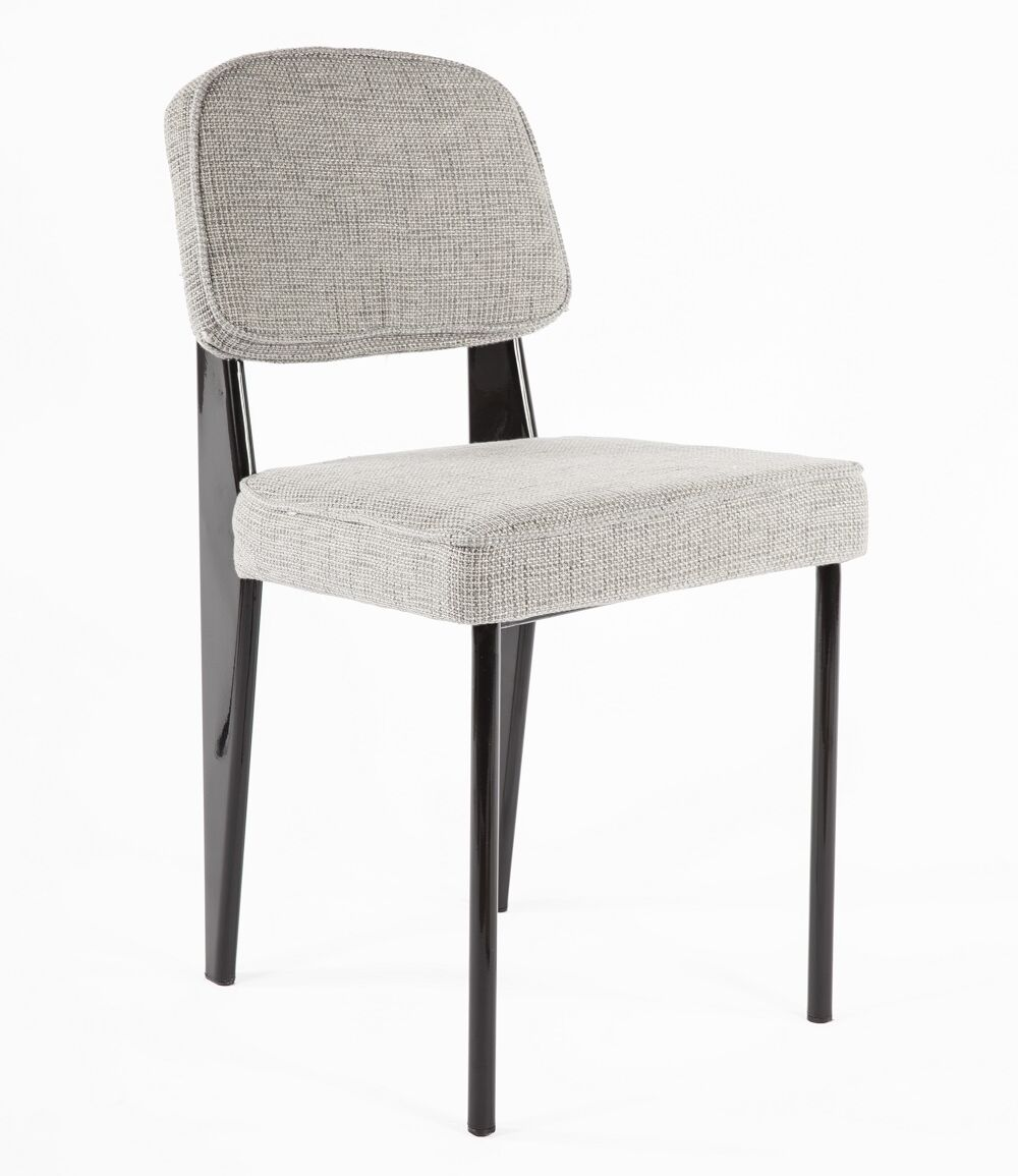 Side Chair Upholstery Color: Grey