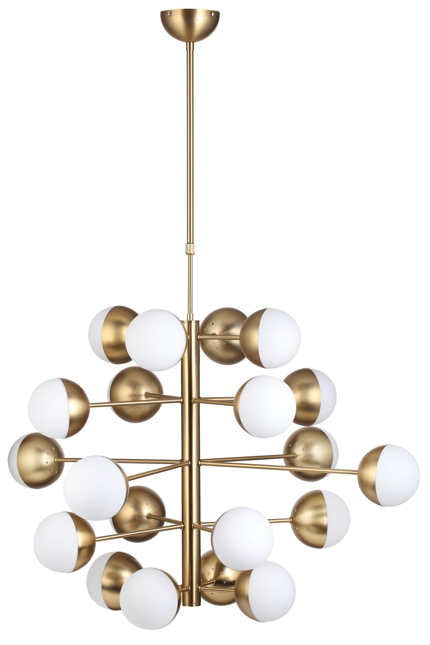 Baggensgatan 20-Light Sputnik Chandelier