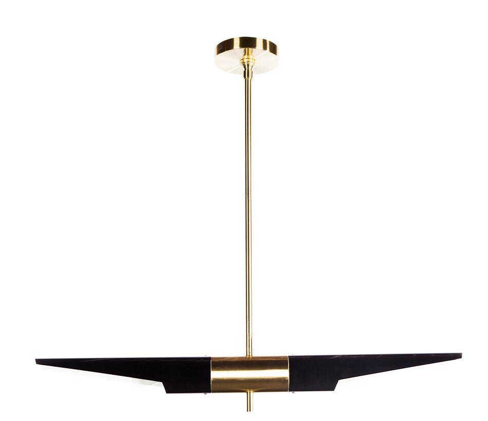 Hagne Ceiling 2-Light Pendant Size: 72