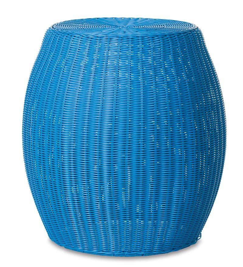 Ottoman Fabric: Blue