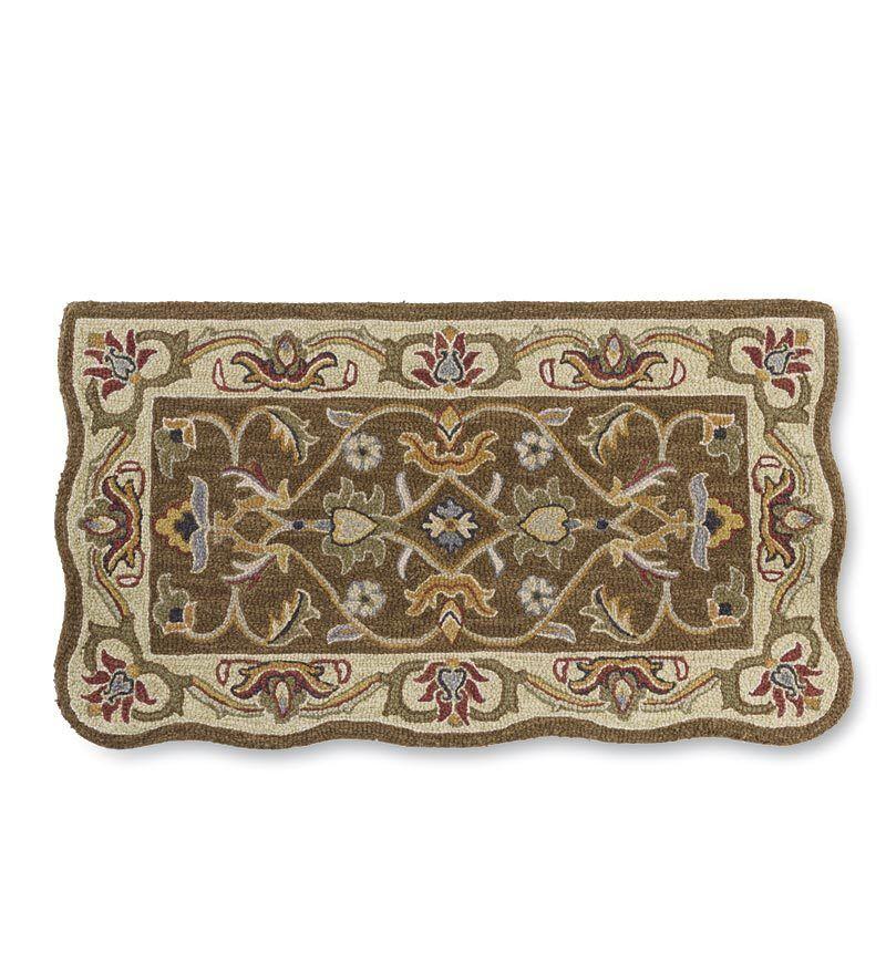 McLean Hand-Tufted Wool Brown Rug