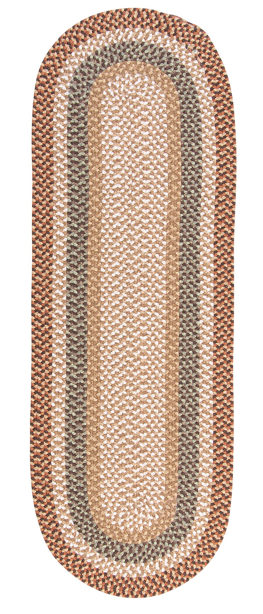 Fabric Multi Natural Area Rug Rug Size: Rectangle 2' x 4'