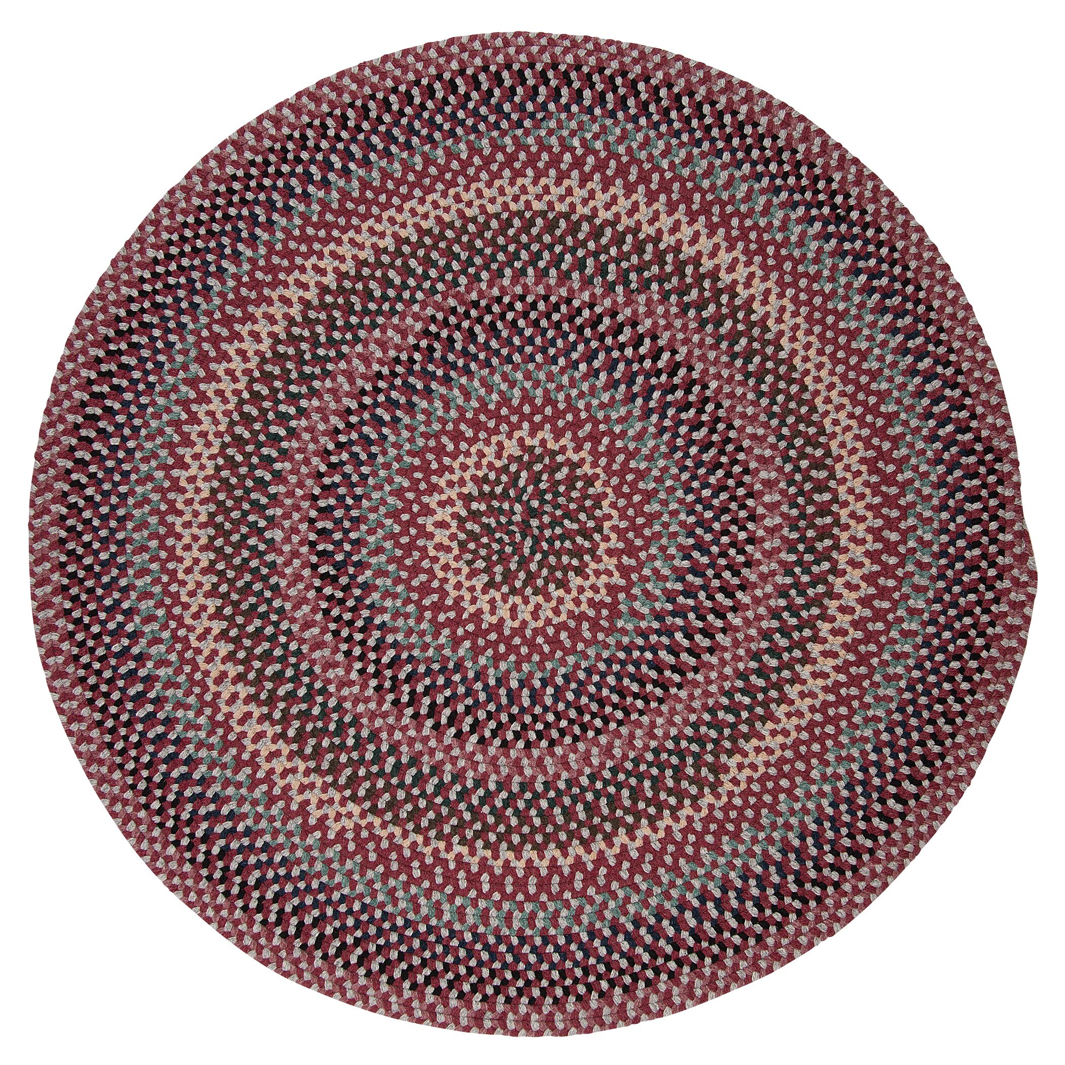 Lettie Brick Marketplace Area Rug Rug Size: Round 8'