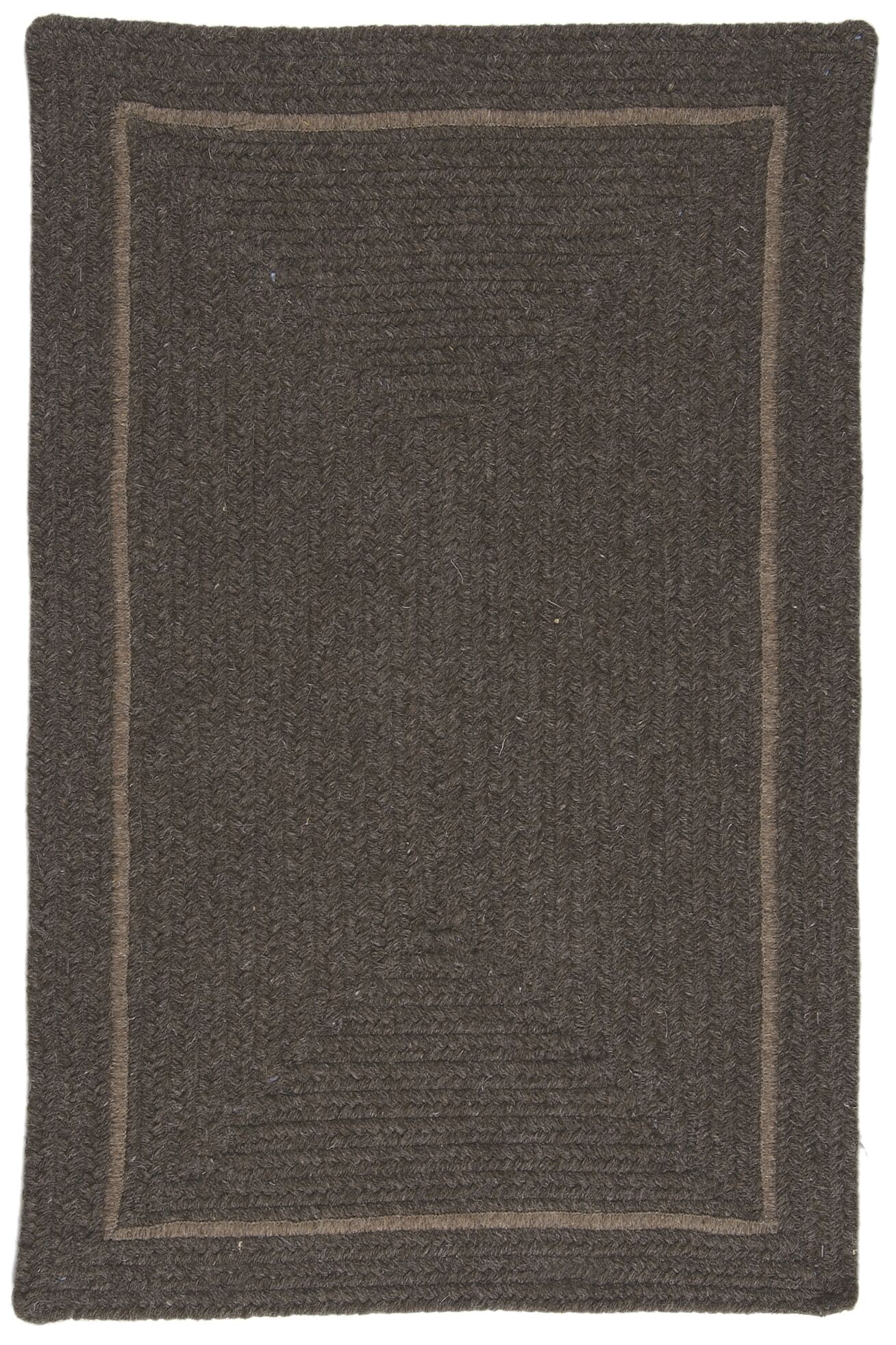 Shear Natural Rural Earth Area Rug Rug Size: Rectangle 2' x 4'