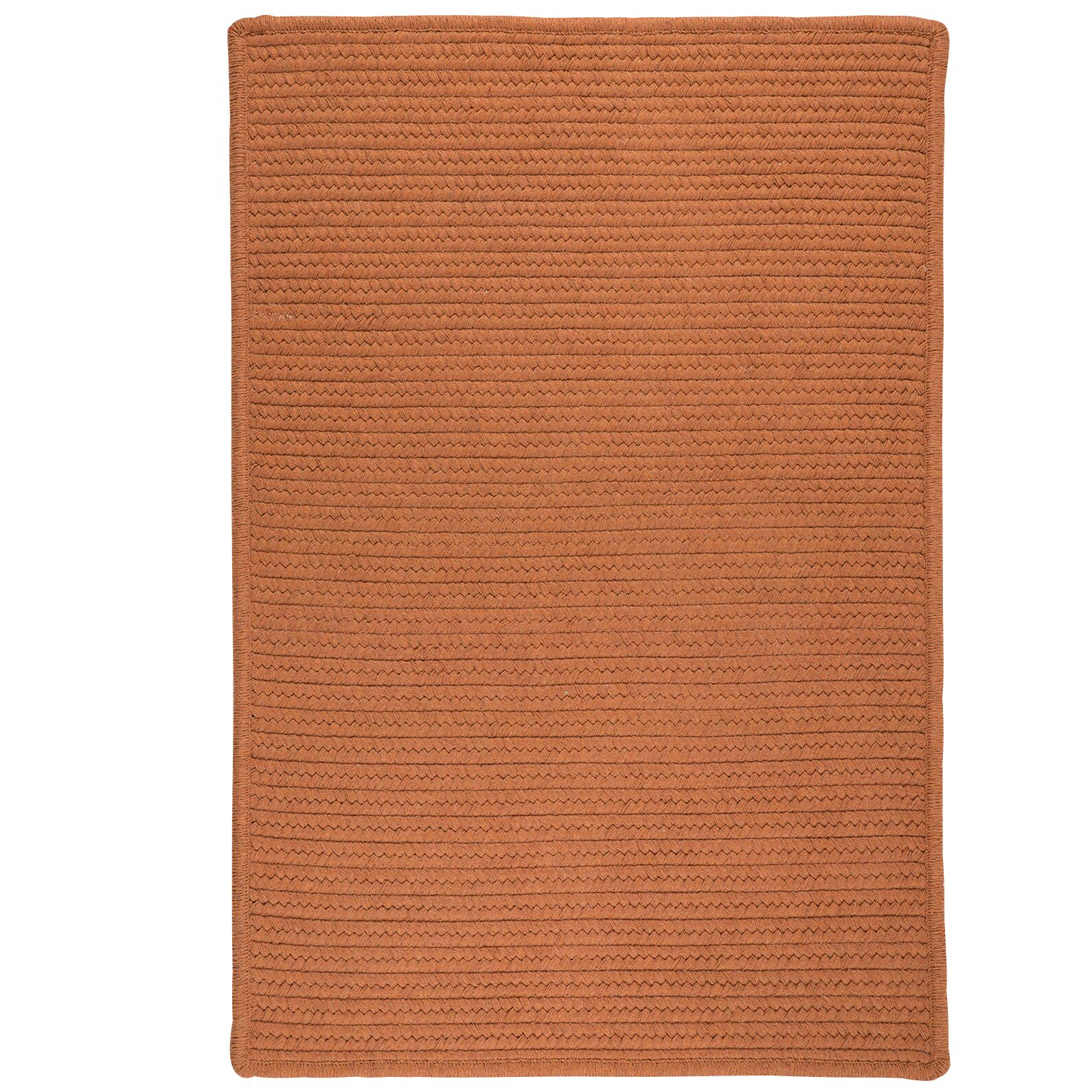 Irini Hand-Woven Orange Area Rug Rug Size: Rectangle 12' x 15'