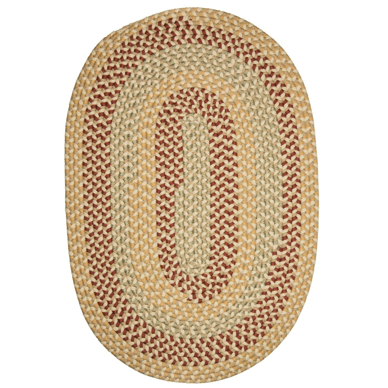 Brook Farm Tea Stained Indoor/Outdoor Area Rug Rug Size: Oval 8' x 11'