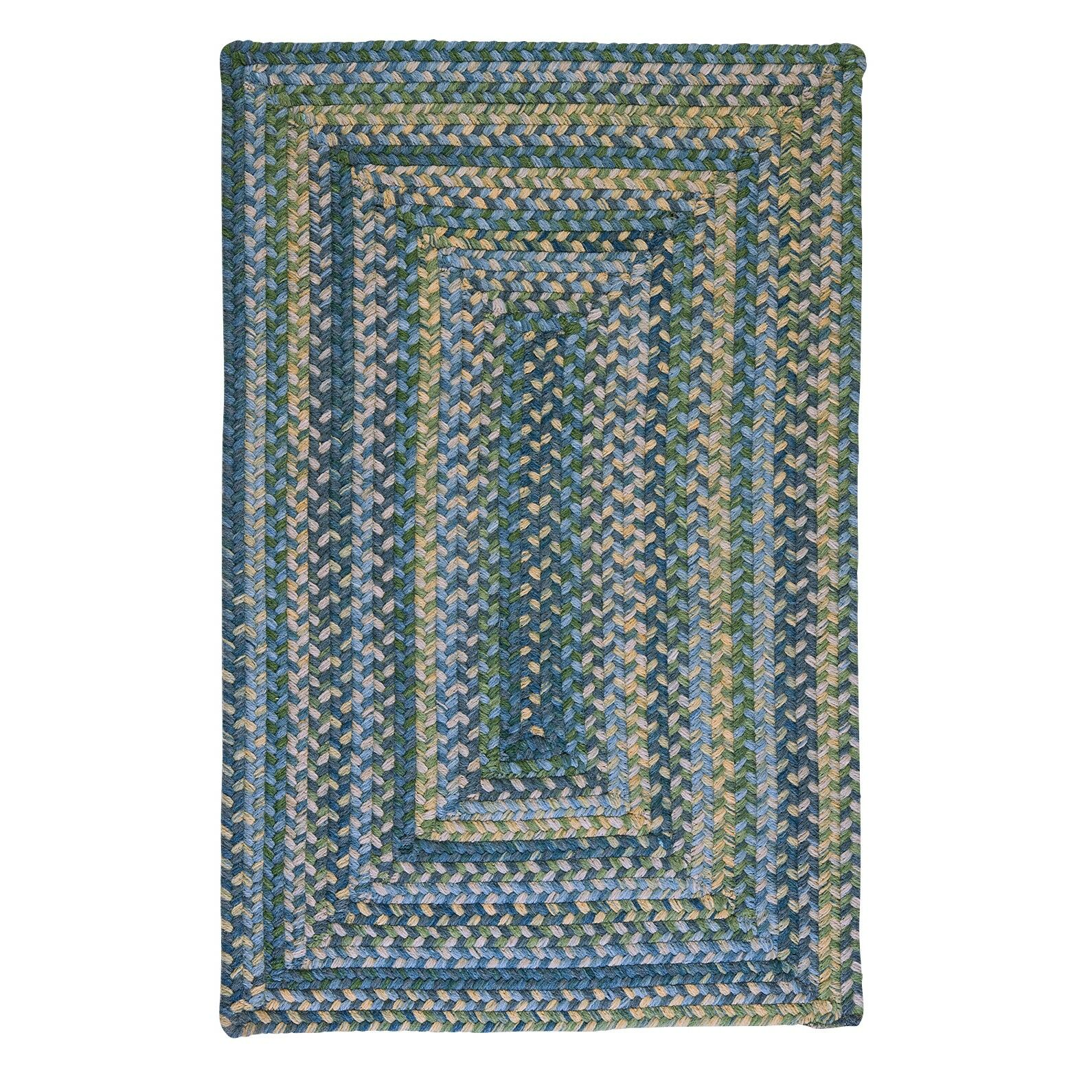 Ridgevale Whipple Green Area Rug Rug Size: Rectangle 2' x 4'