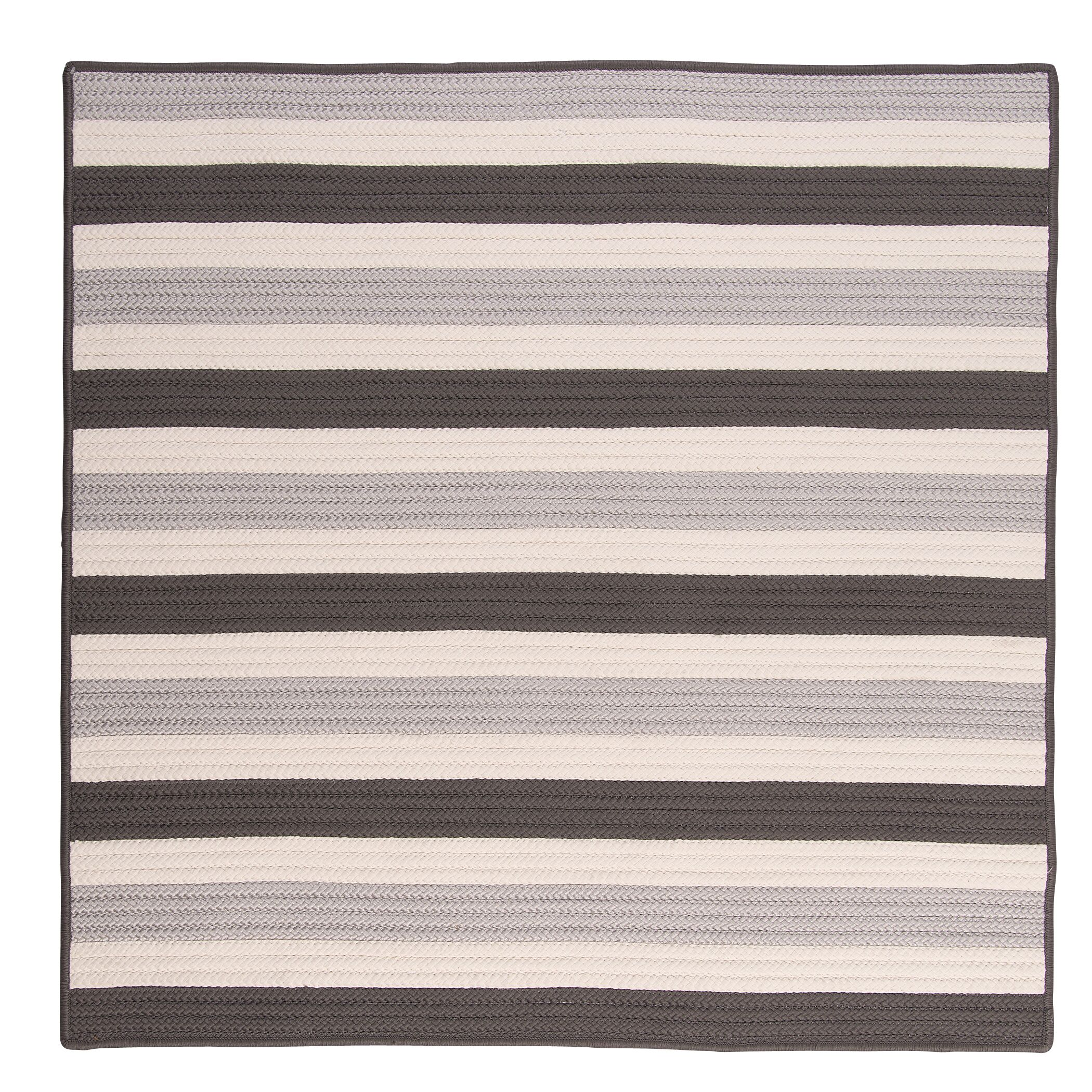 Georg Silver Indoor/Outdoor Area Rug Rug Size: Square 8'