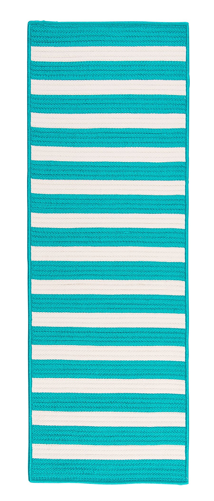 Georg Turquoise Indoor/Outdoor Area Rug Rug Size: Runner 2' x 10'