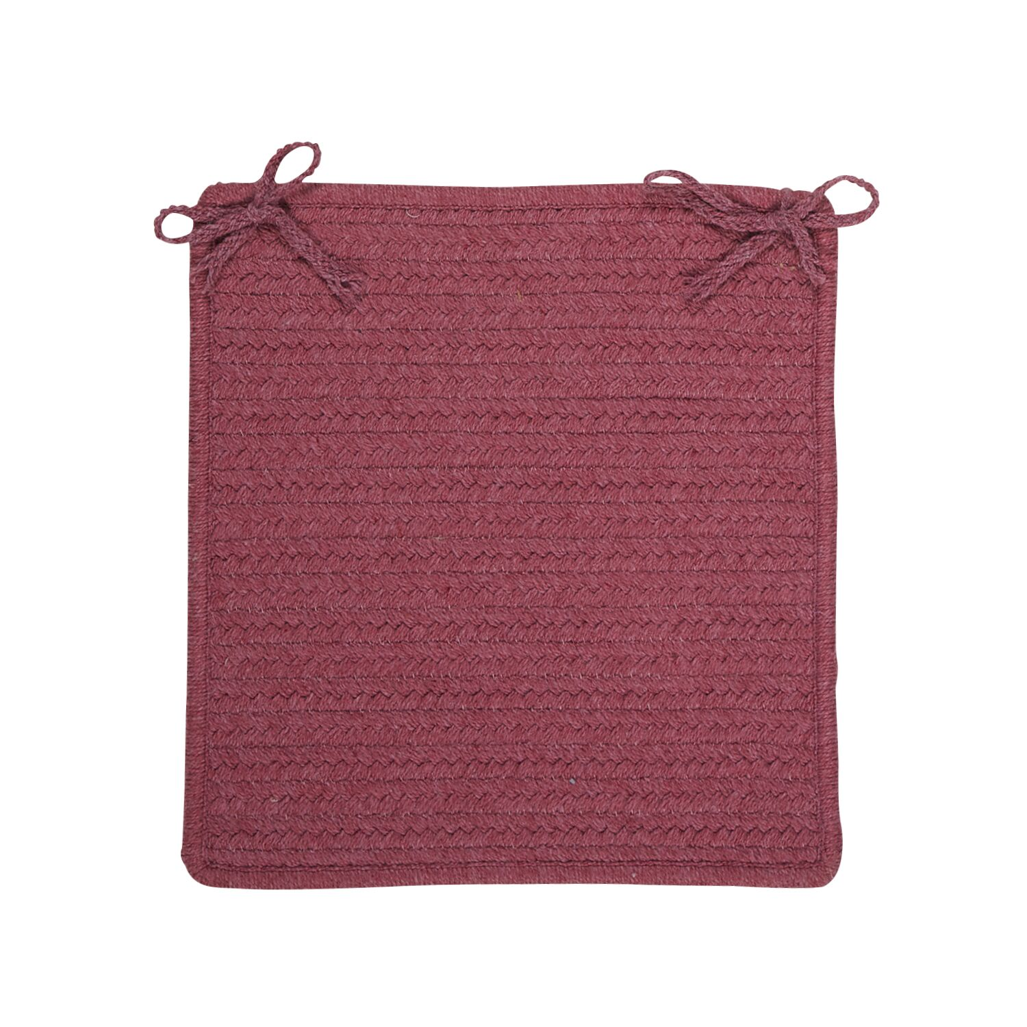 Courtyard Dining Chair Cushion Color: Mauve