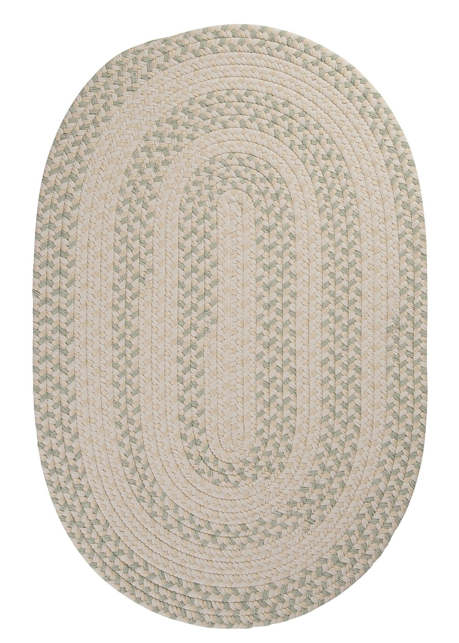 Elmwood Tarragon Braided Area Rug Rug Size: Runner 2' x 12'