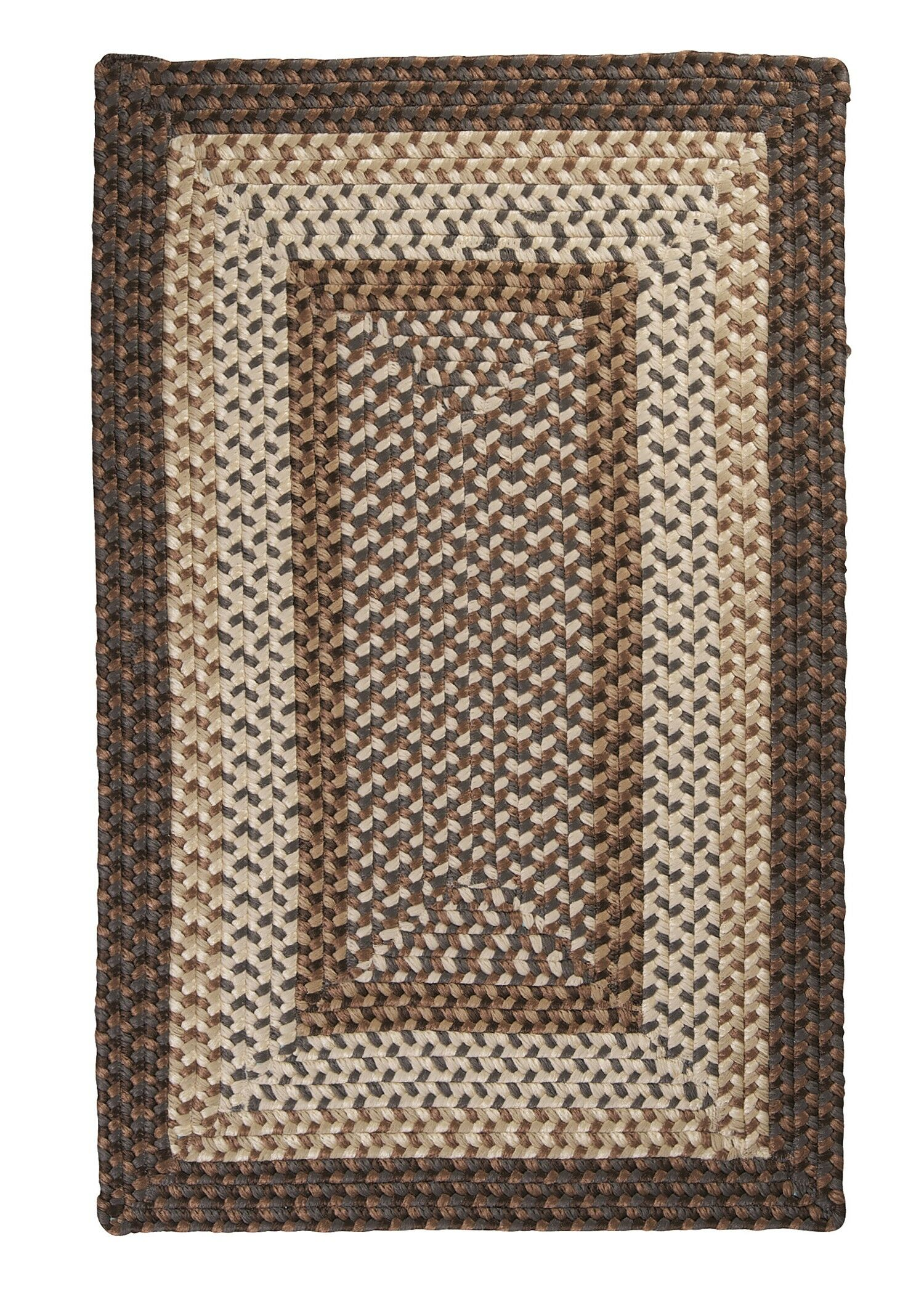 Tiburon Dockside Braided Indoor/Outdoor Area Rug Rug Size: Square 10'
