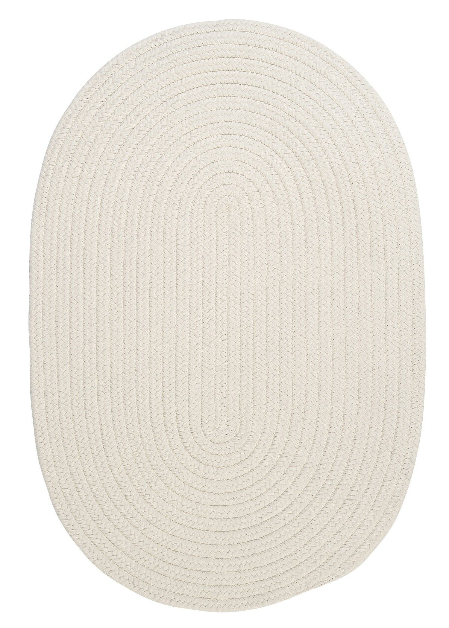 Boca Raton White Indoor/Outdoor Area Rug Rug Size: Round 4'