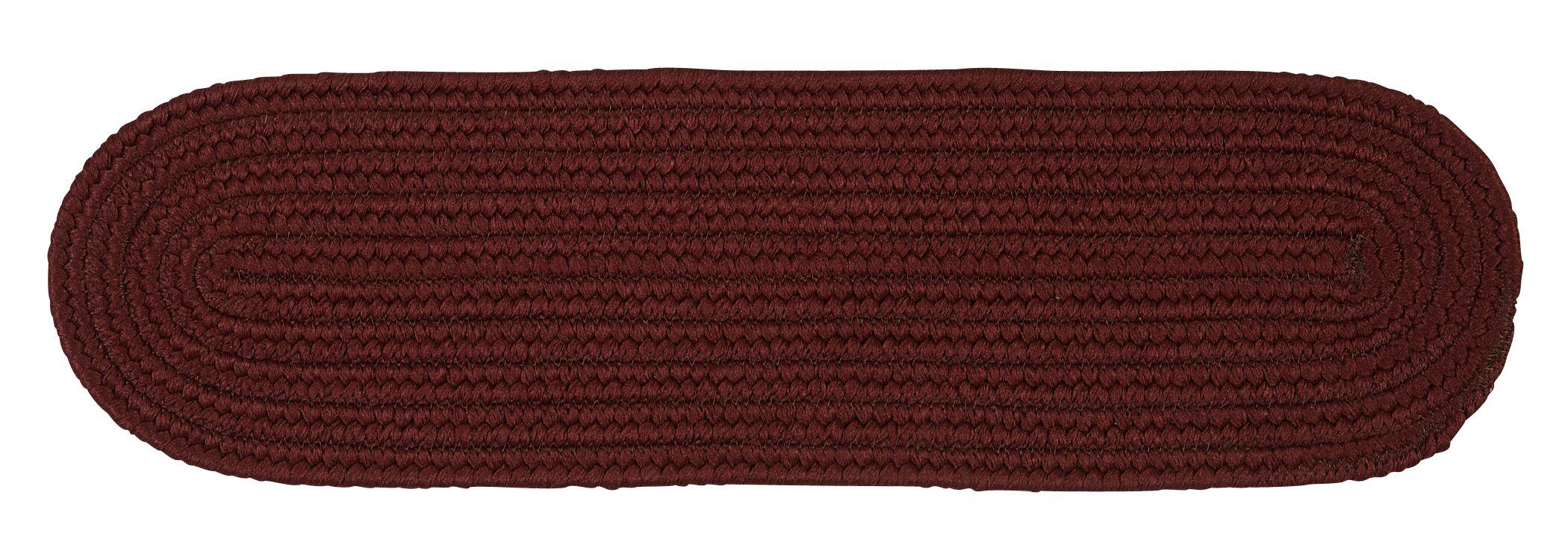 Mcintyre Burgundy Stair Tread Quantity: Set of 13