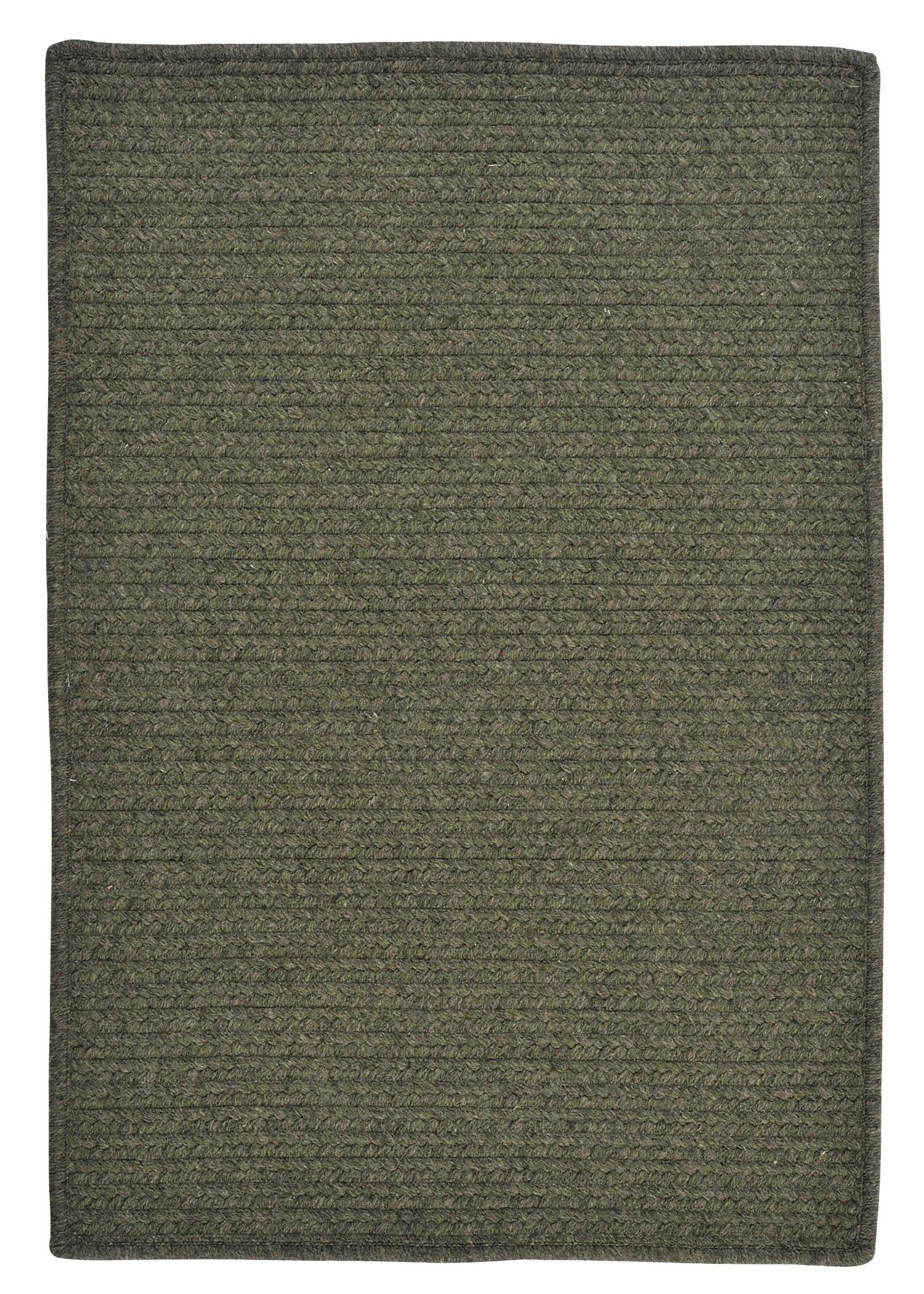 Courtyard Olive Rug Rug Size: Rectangle 5' x 8'