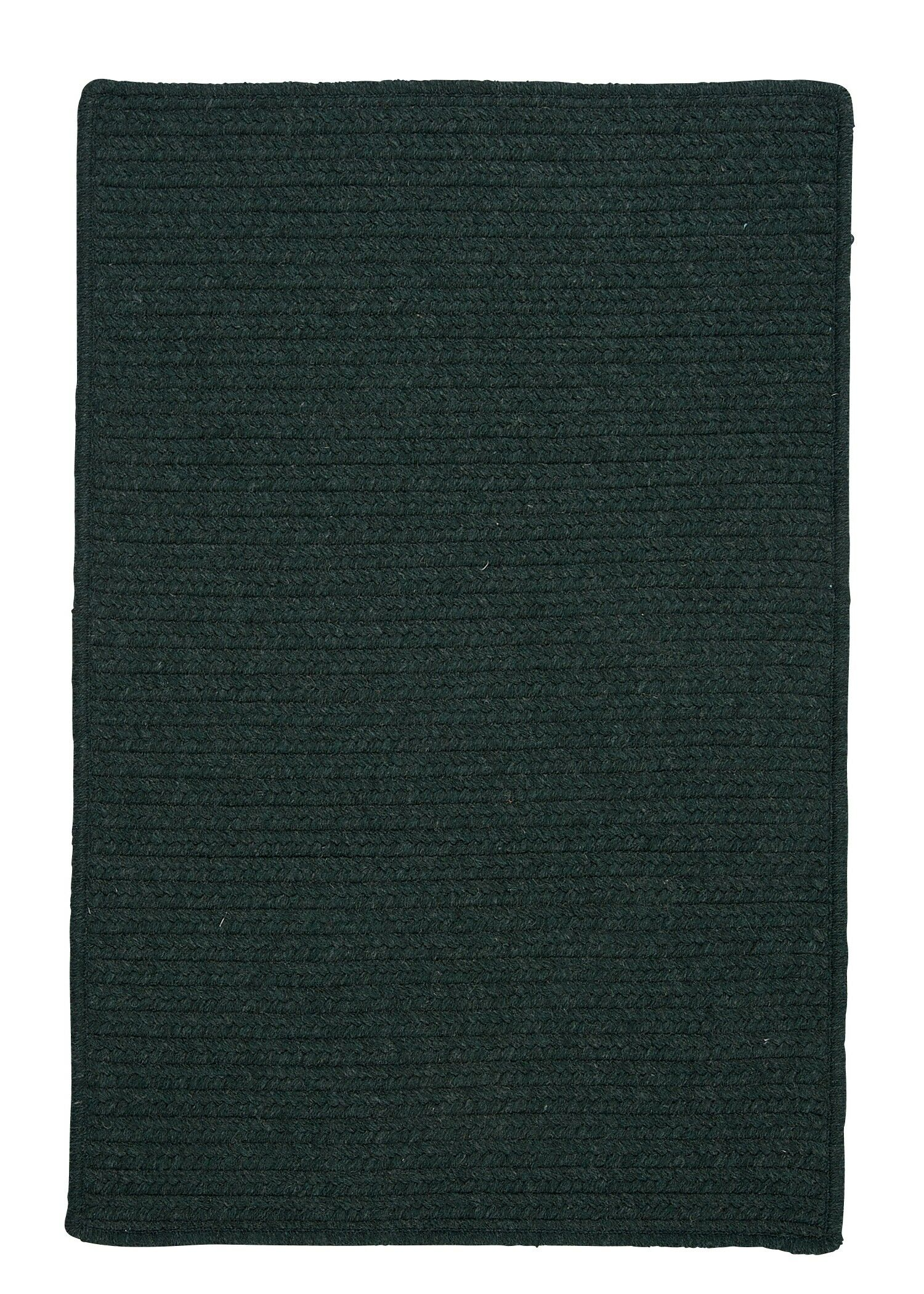 Courtyard Cypress Green Rug Rug Size: Square 10', Fringe: Not Included