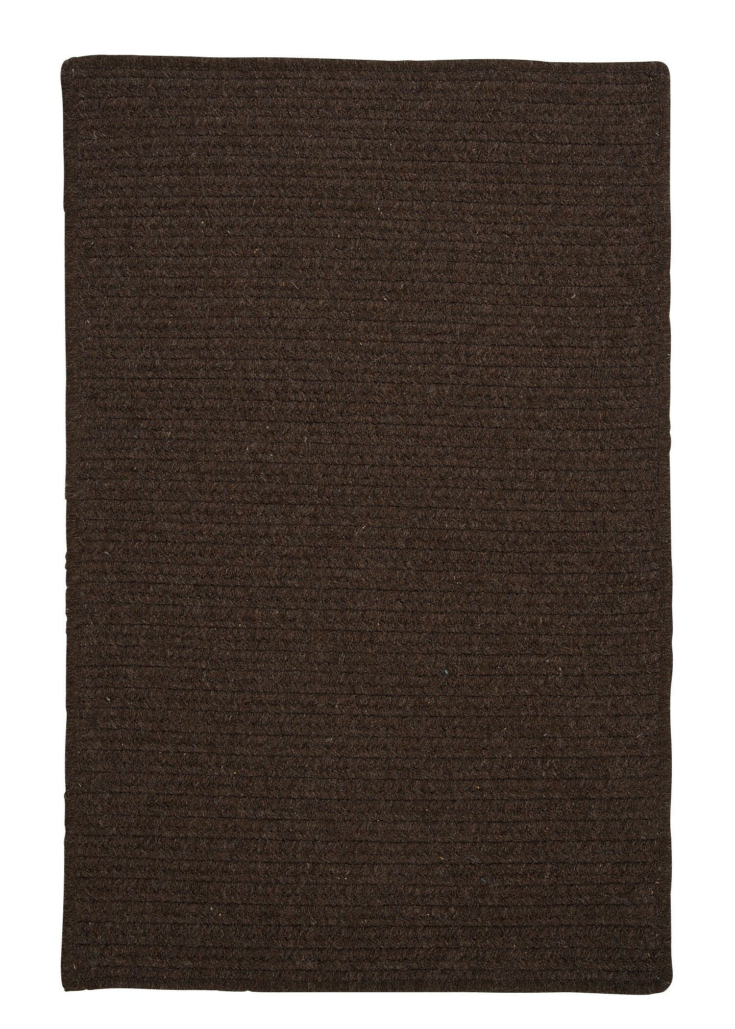 Courtyard Cocoa Rug Fringe: Not Included, Rug Size: Runner 2' x 6'