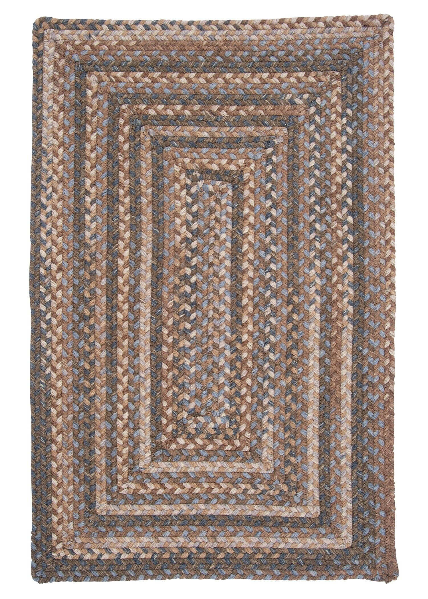 Gloucester Cashew Brown/Tan Area Rug Rug Size: Square 10'