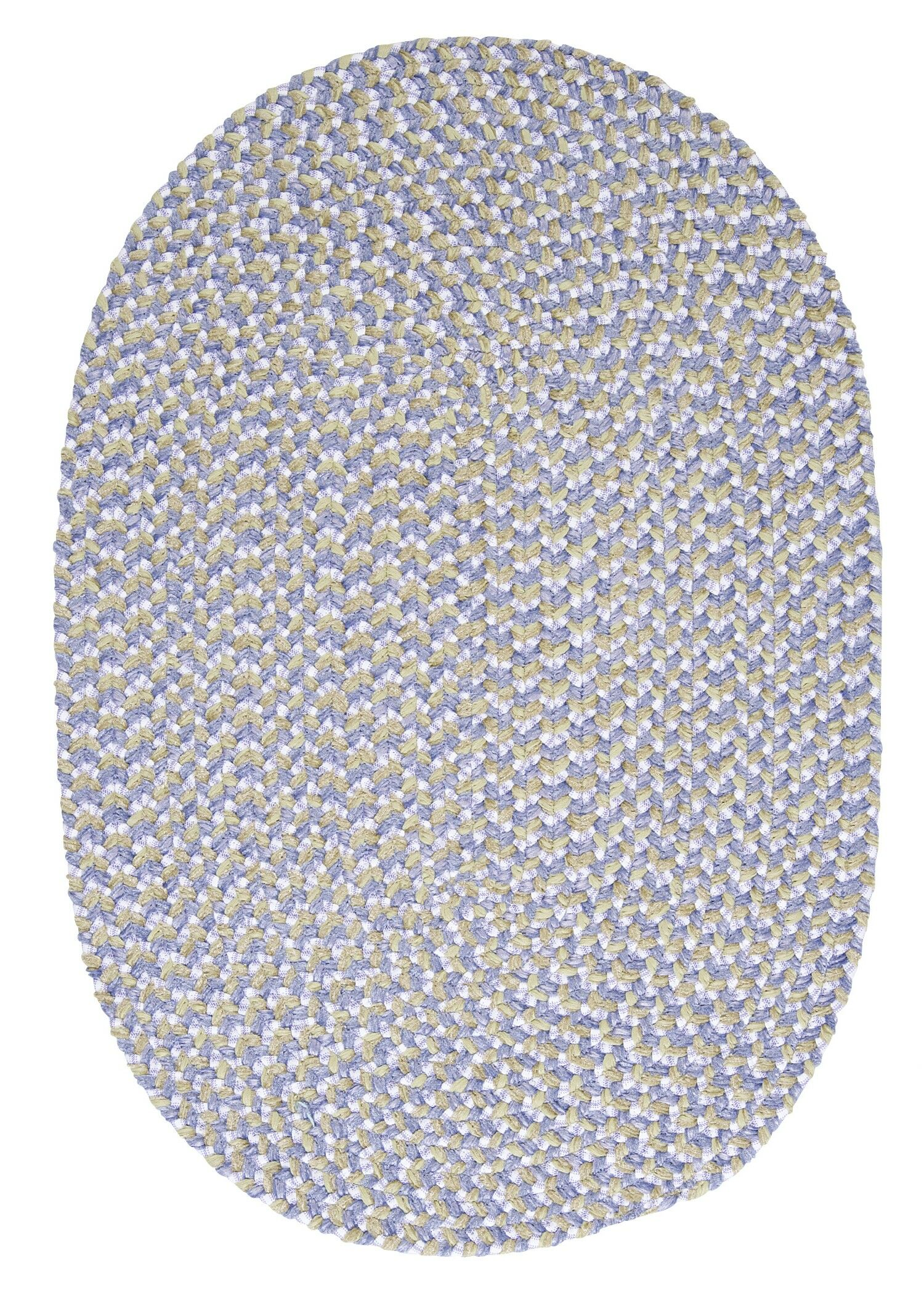 Confetti Lilac Area Rug Rug Size: Oval Runner 2' x 10'