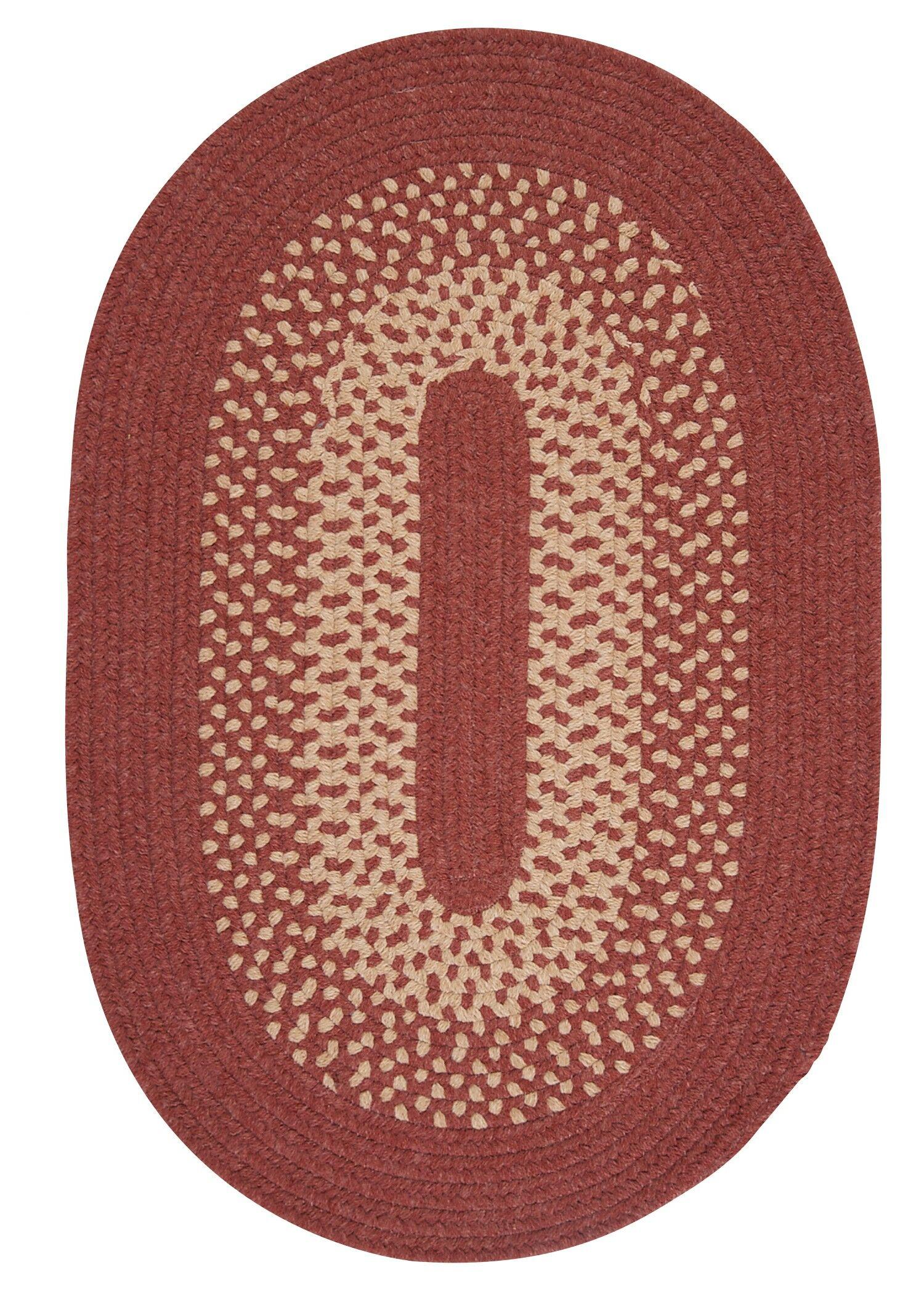 Jackson Rosewood Rug Rug Size: Round 8'