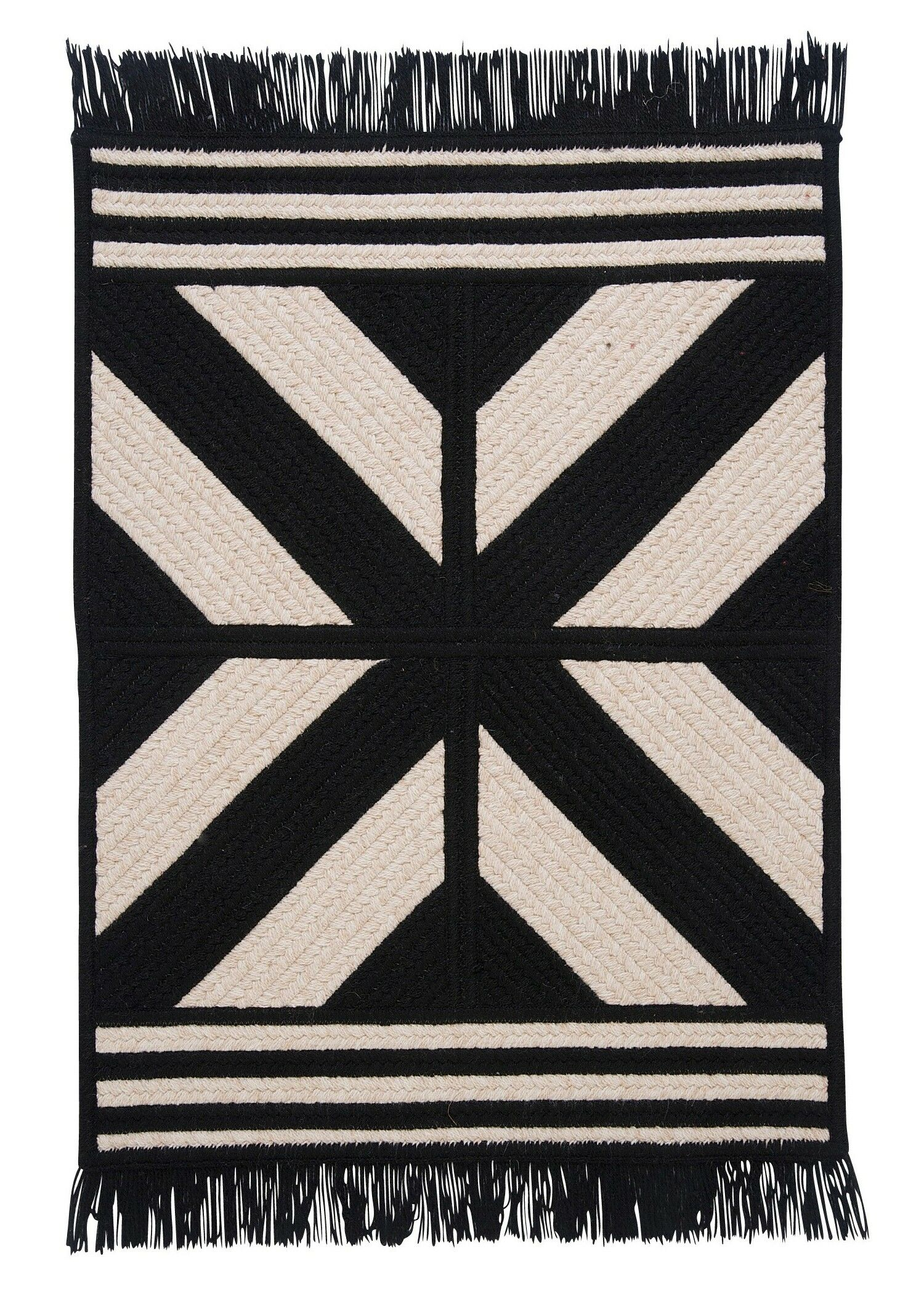 Sedona Black Area Rug Rug Size: Rectangle 5' x 8'