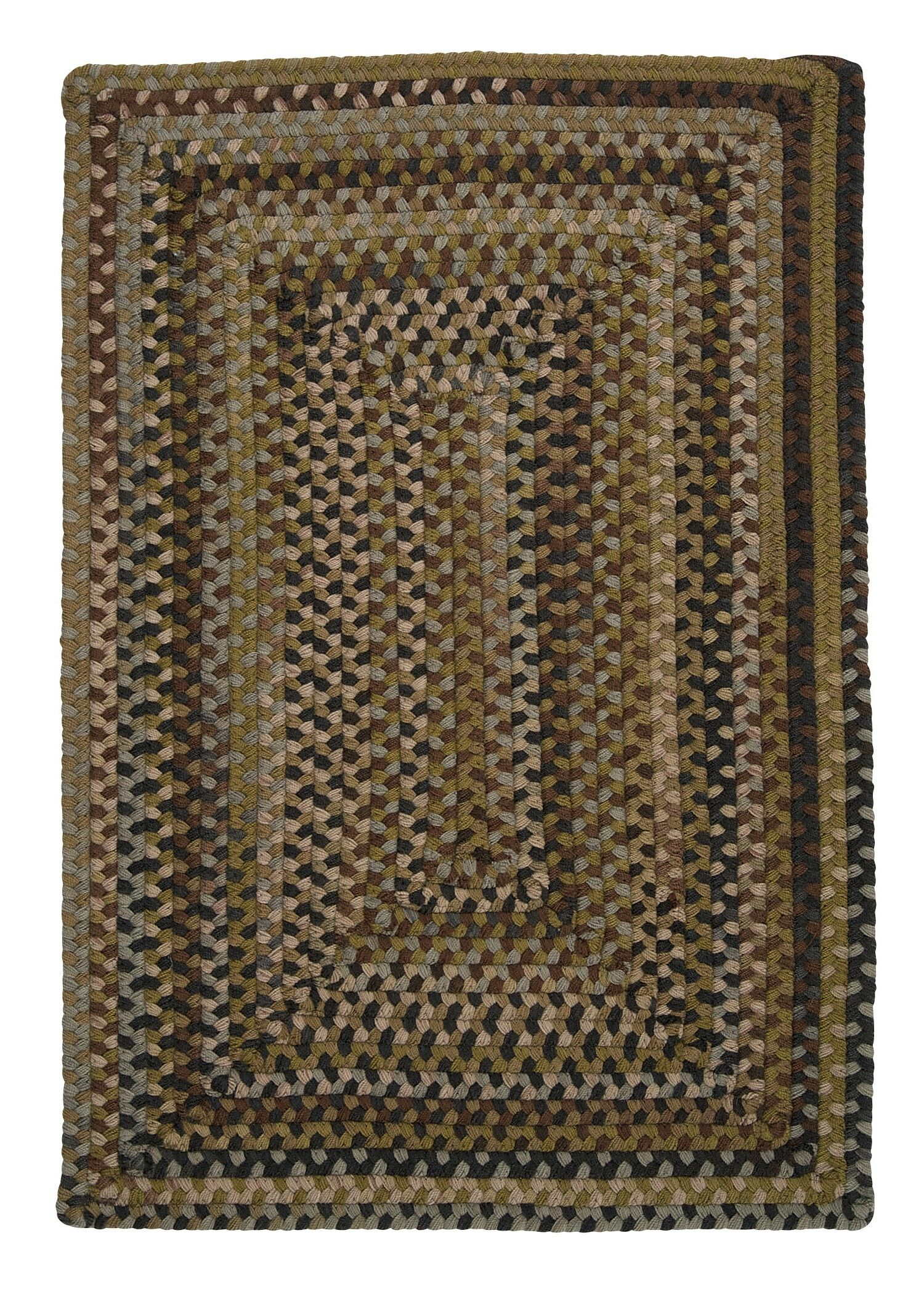 Ridgevale Grecian Green Area Rug Rug Size: Rectangle 7' x 9'