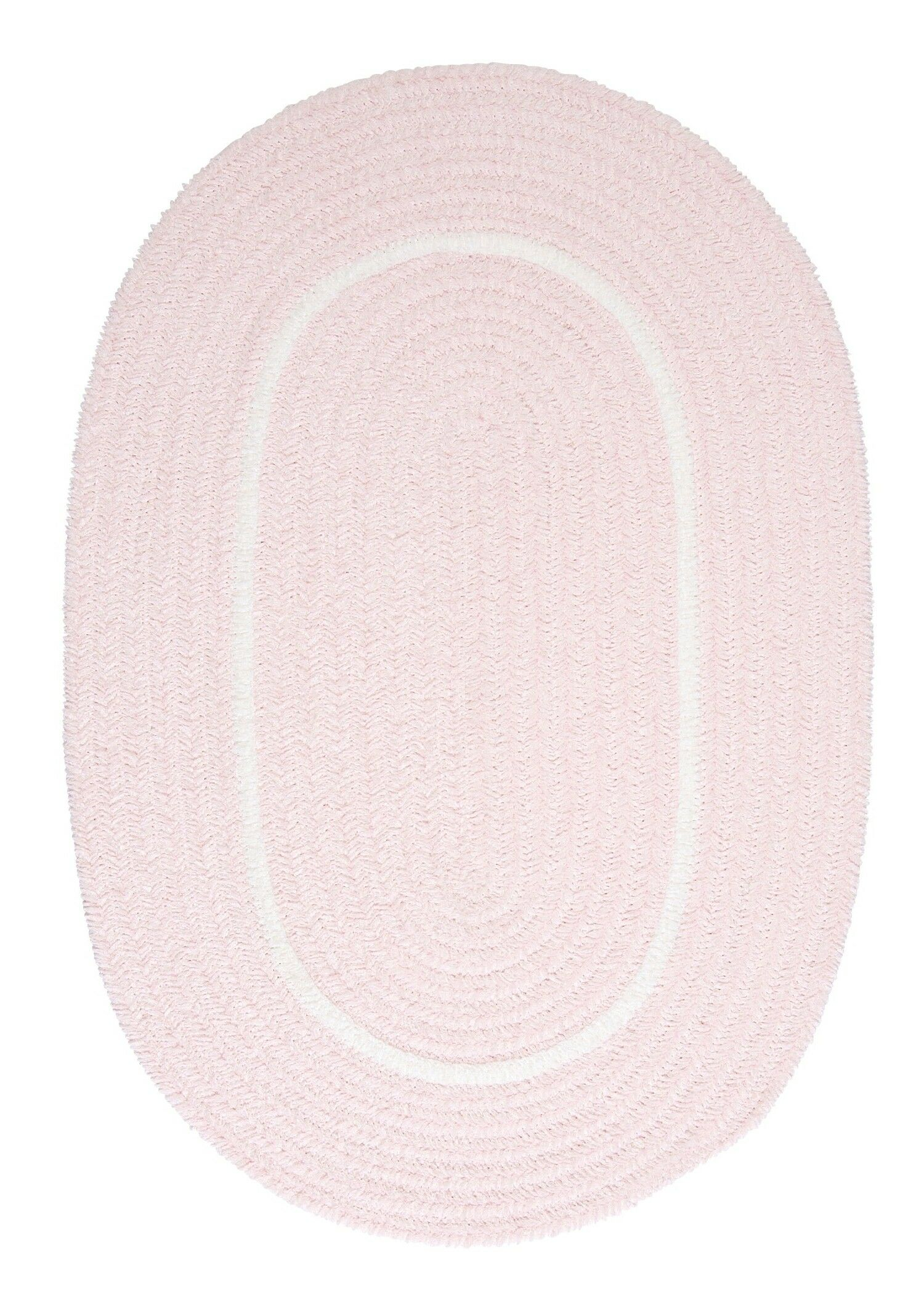 Silhouette Pink Indoor/Outdoor Area Rug Rug Size: Oval 2' x 4'