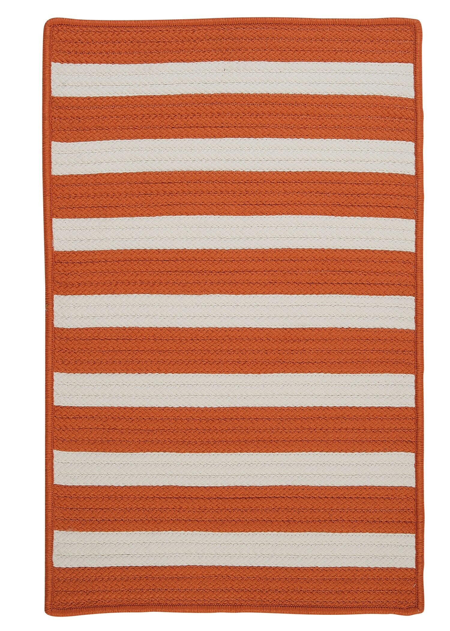 Georg Tangerine Indoor/Outdoor Area Rug Rug Size: Runner 2' x 6'