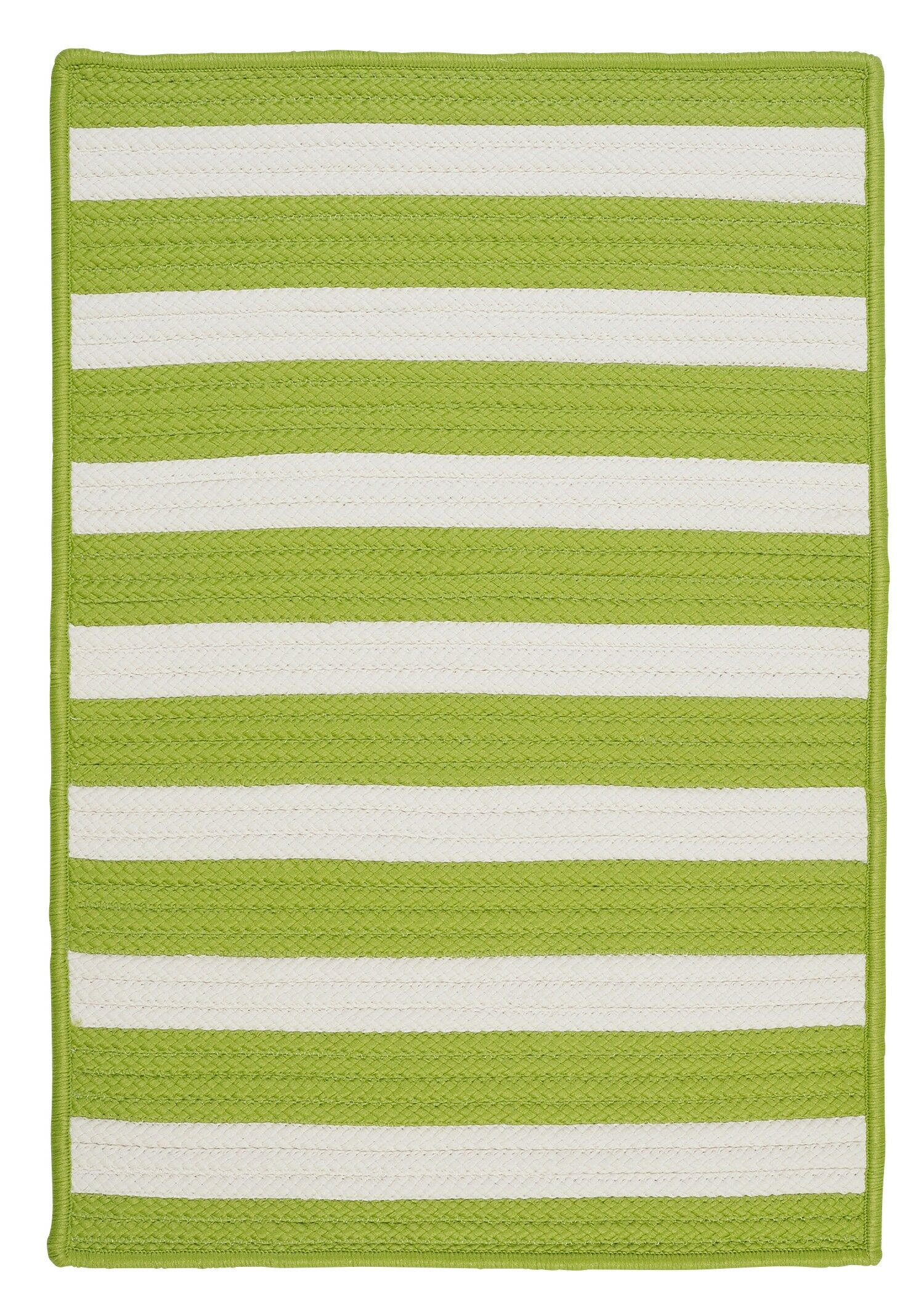 Georg Bright Lime Indoor/Outdoor Area Rug Rug Size: Rectangle 2' x 4'