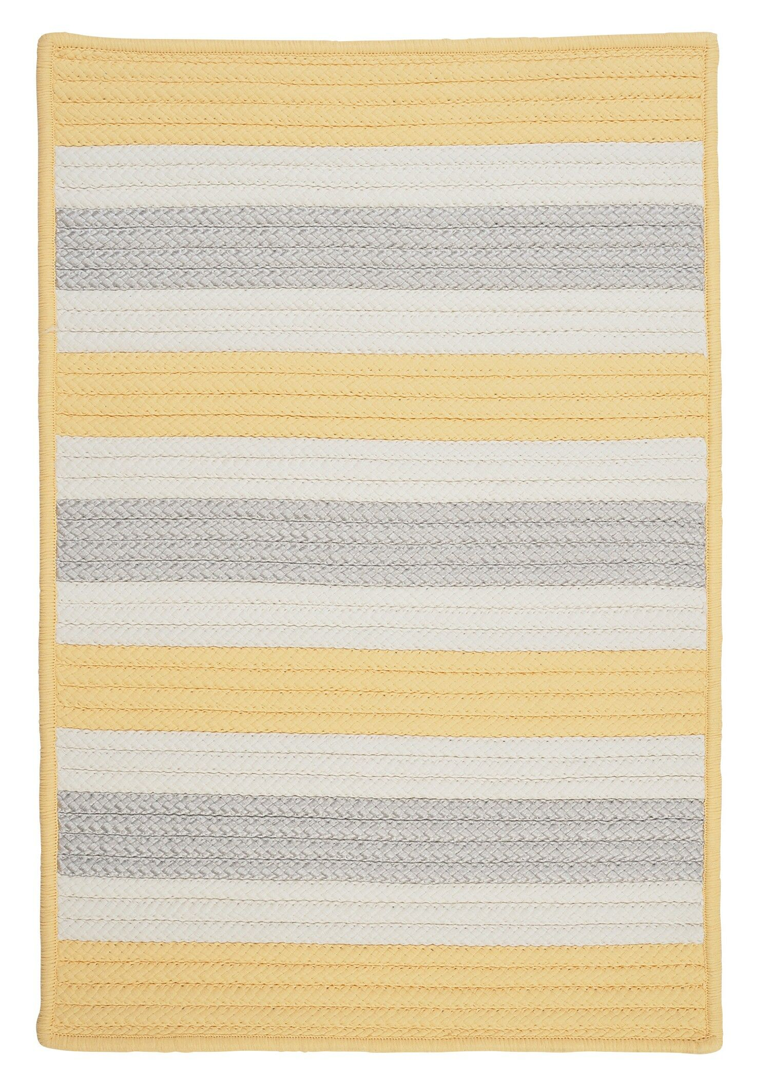 Georg Yellow Shimmer Indoor/Outdoor Rug Rug Size: Runner 2' x 10'
