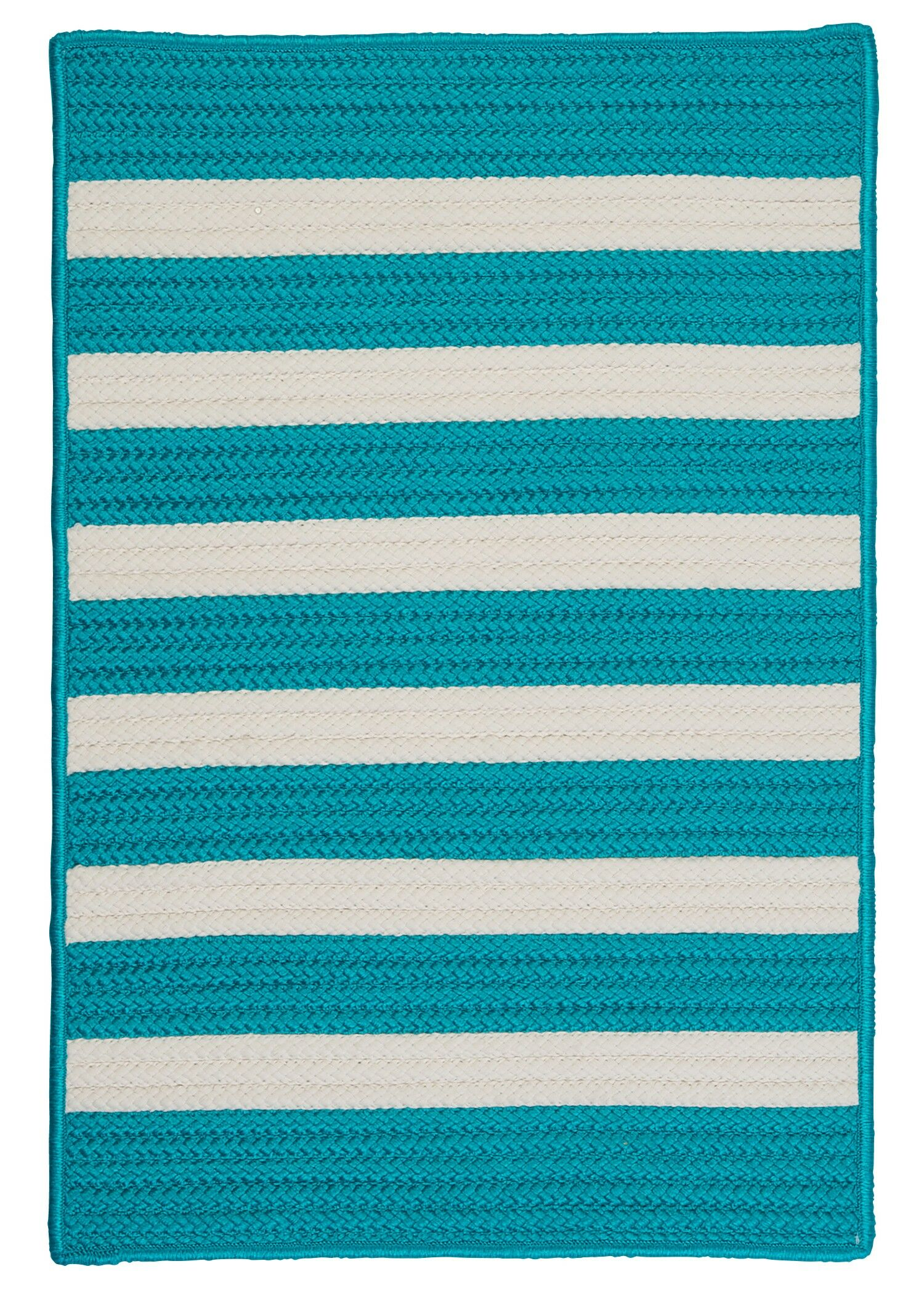 Georg Turquoise Indoor/Outdoor Area Rug Rug Size: Rectangle 8' x 11'