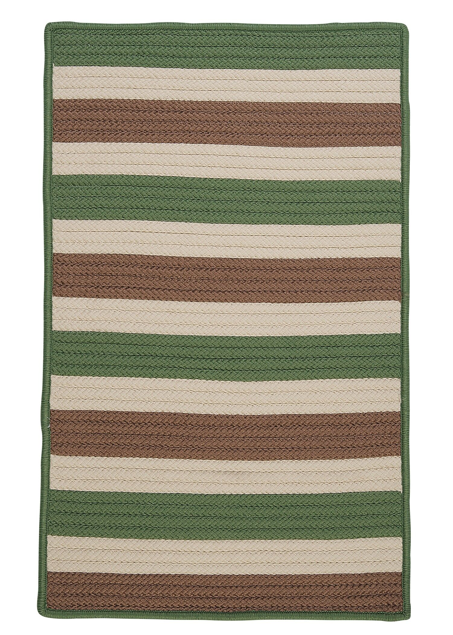 Georg Moss-stone Indoor/Outdoor Area Rug Rug Size: Rectangle 7' x 9'